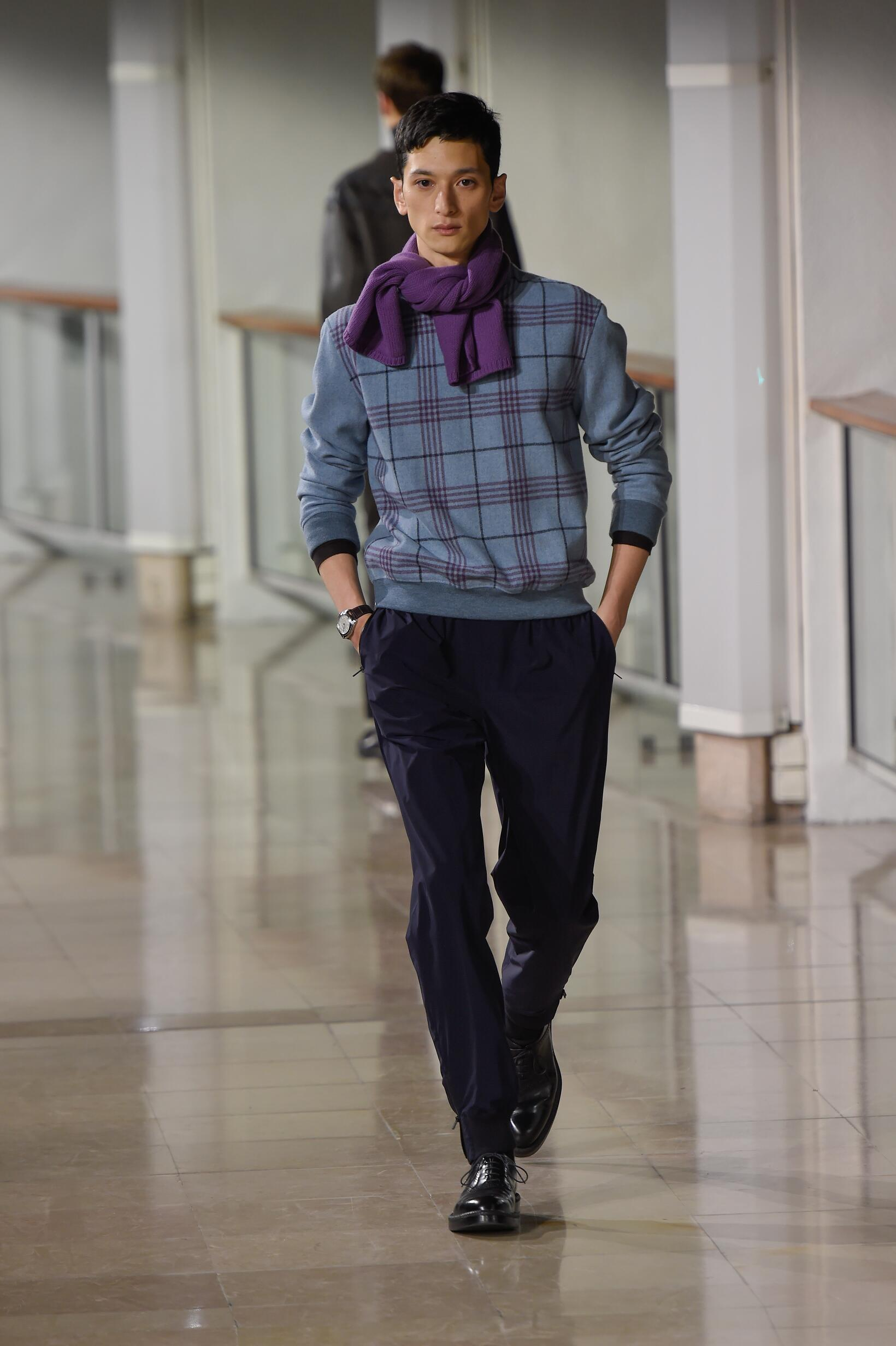 Catwalk Hermès Menswear Collection Winter 2015