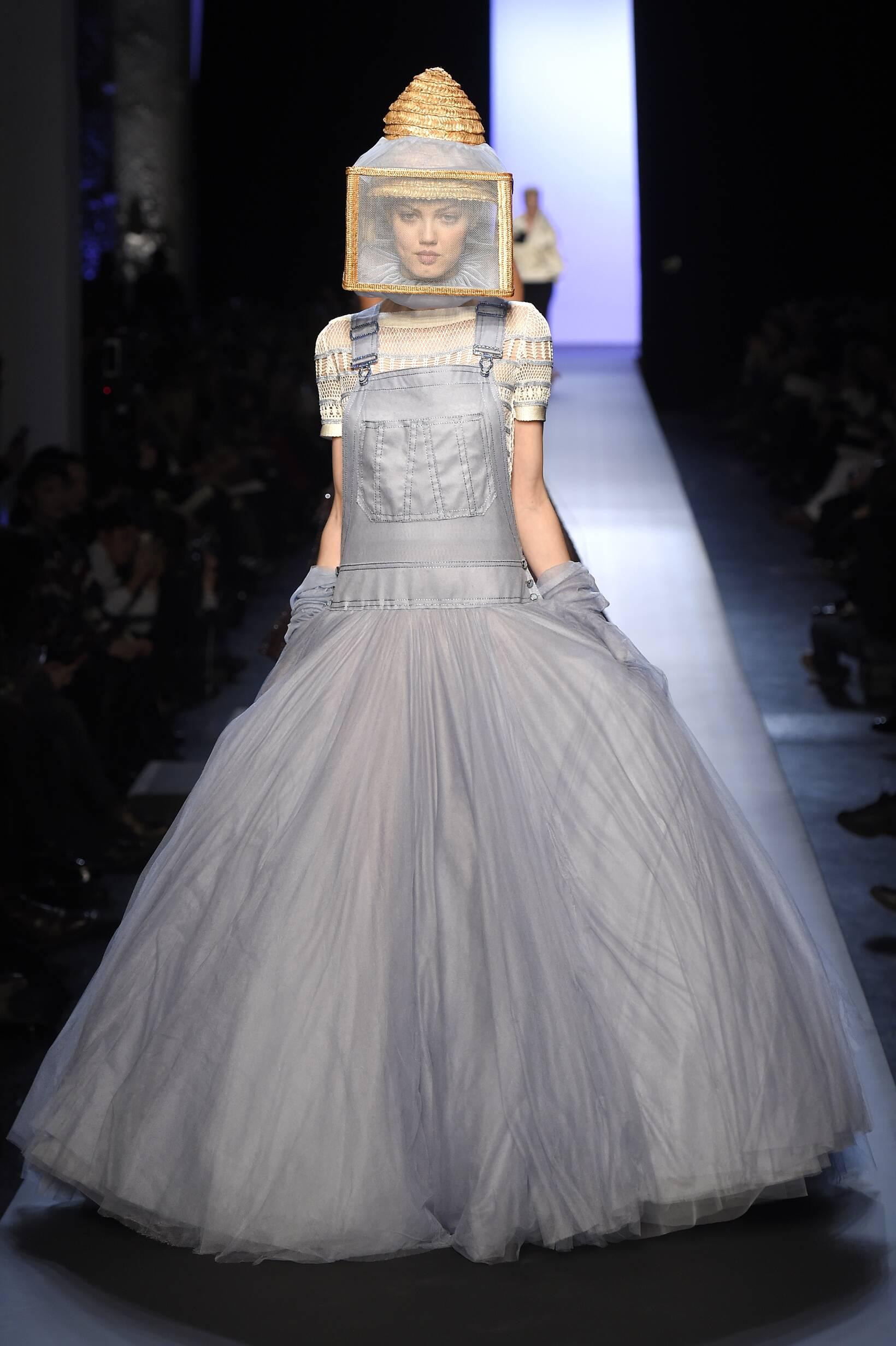 Catwalk Jean Paul Gaultier Haute Couture Collection Fashion Show Summer 2015