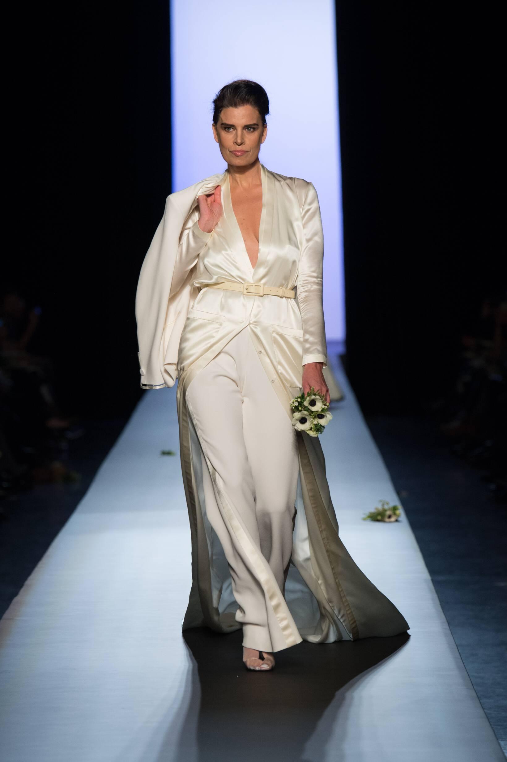 Catwalk Jean Paul Gaultier Haute Couture Spring Summer 2015 Women's Collection Paris Fashion Week