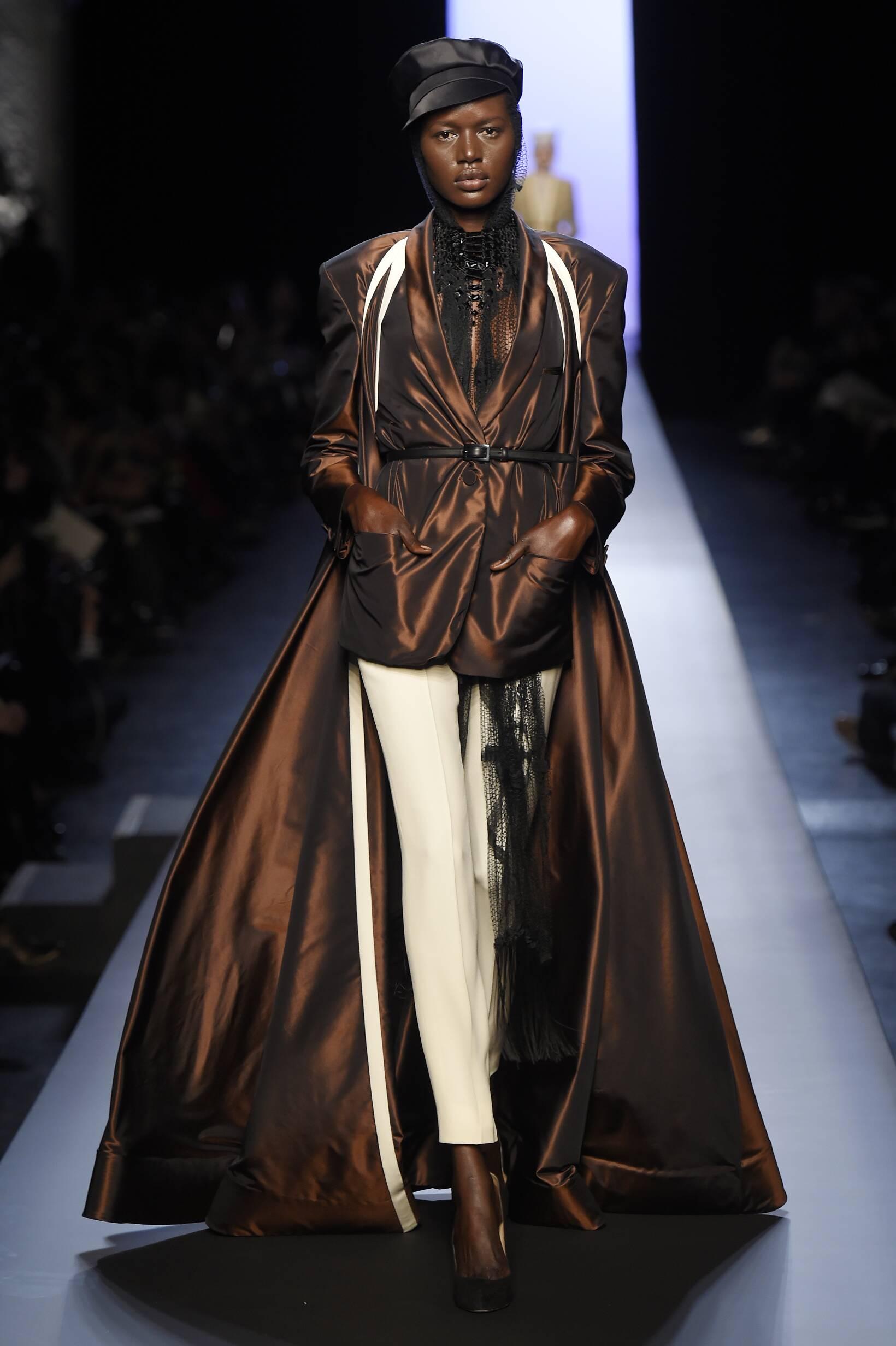 Catwalk Jean Paul Gaultier Haute Couture Womenswear Collection Summer 2015