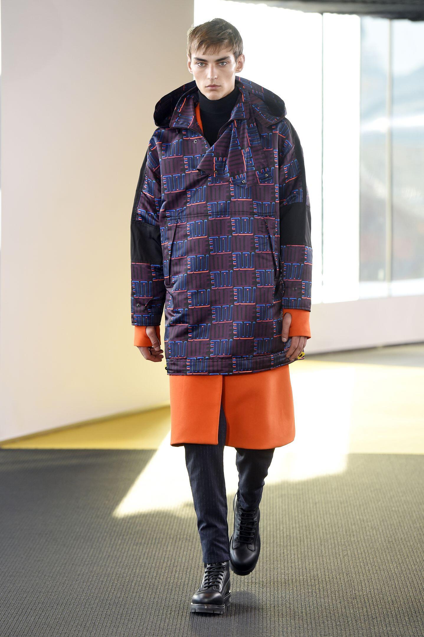 Catwalk Kenzo Fall Winter 2015 16 Men's Collection Paris Fashion Week