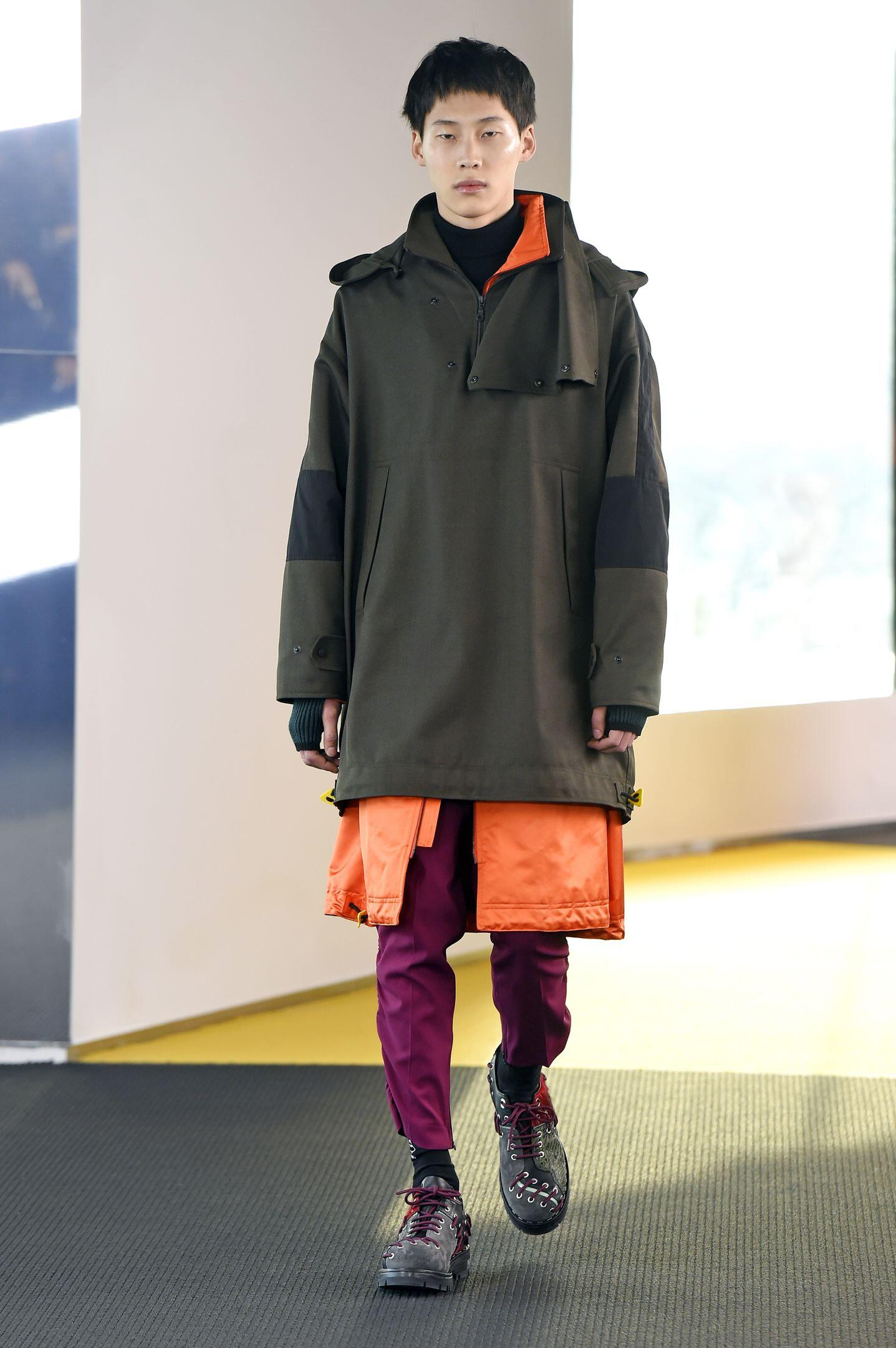 Catwalk Kenzo Menswear Collection Winter 2015