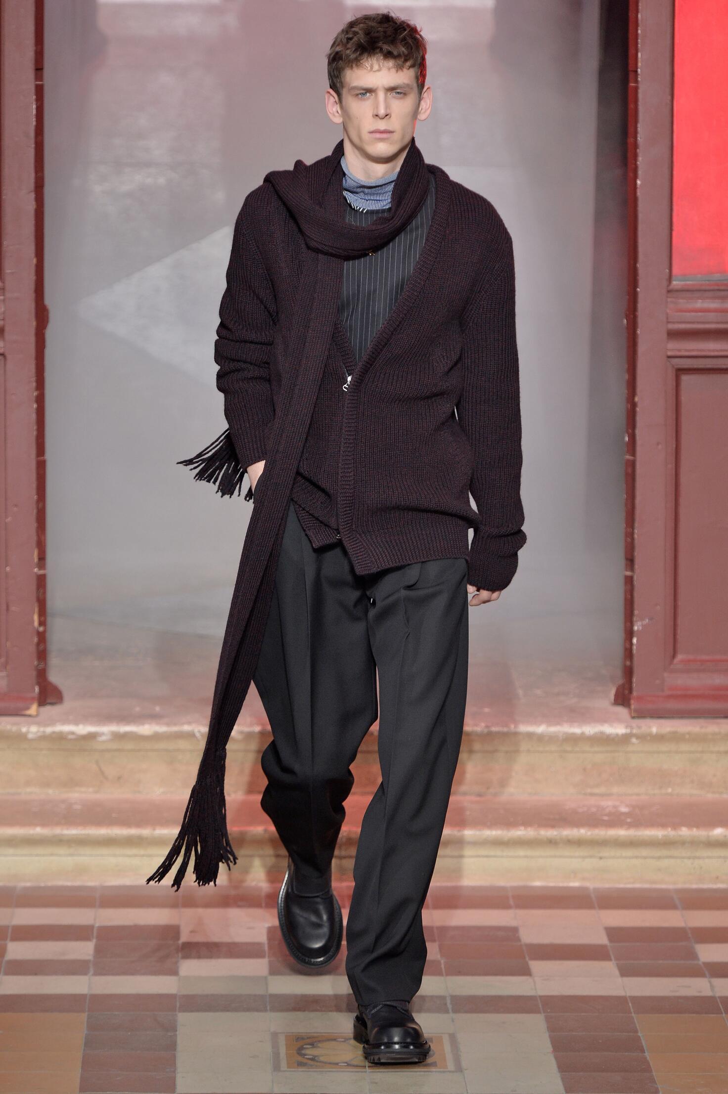 Catwalk Lanvin Menswear Collection Winter 2015