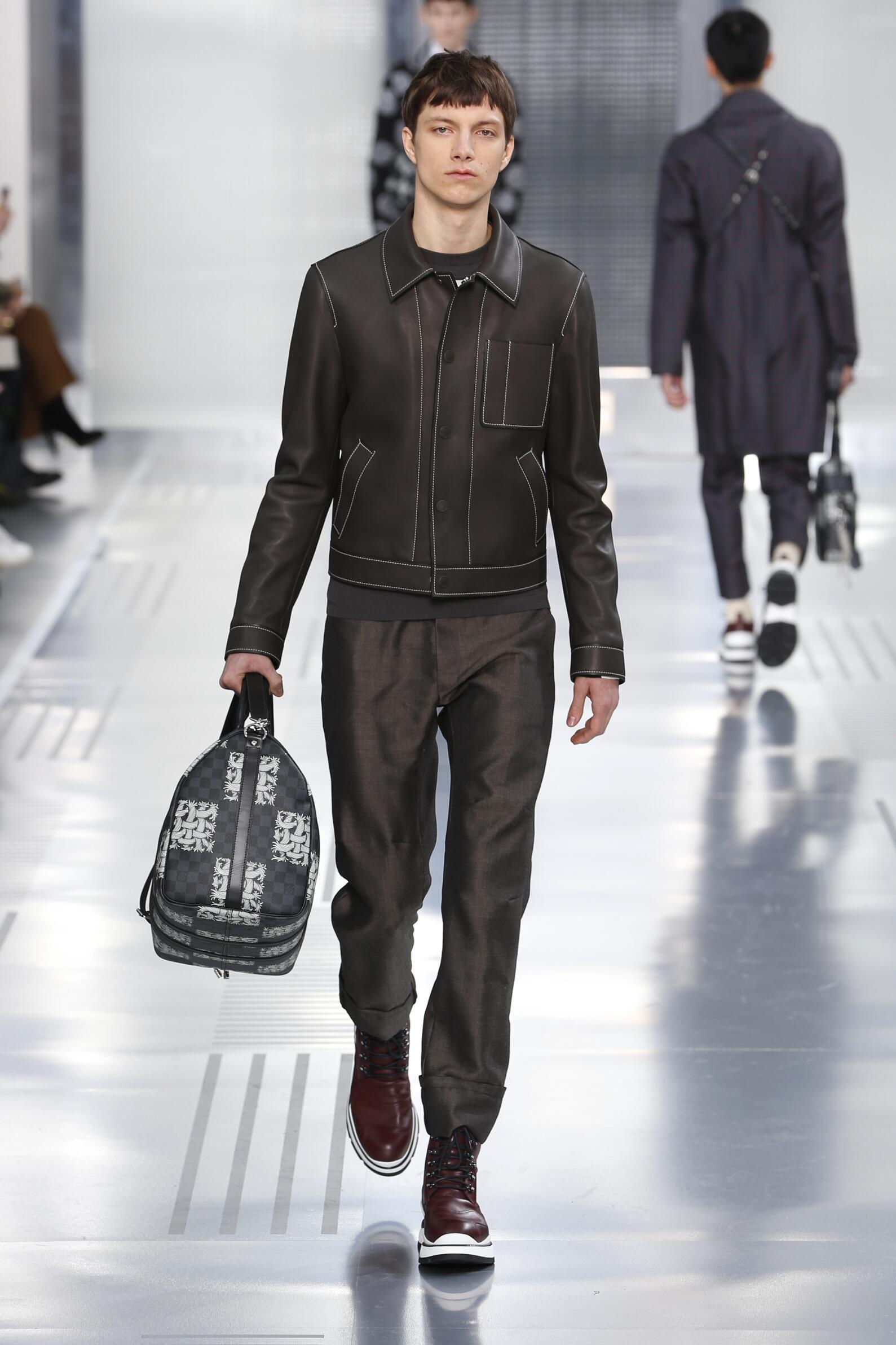 Catwalk Louis Vuitton Menswear Collection Winter 2015