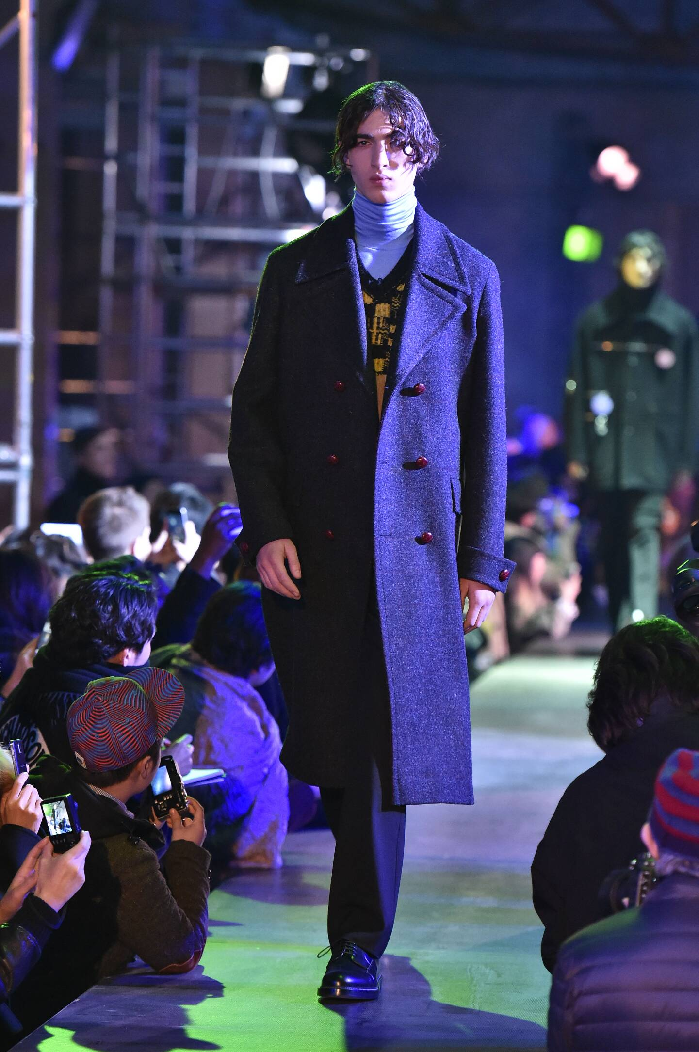 Catwalk Raf Simons Collection Fashion Show Winter 2015