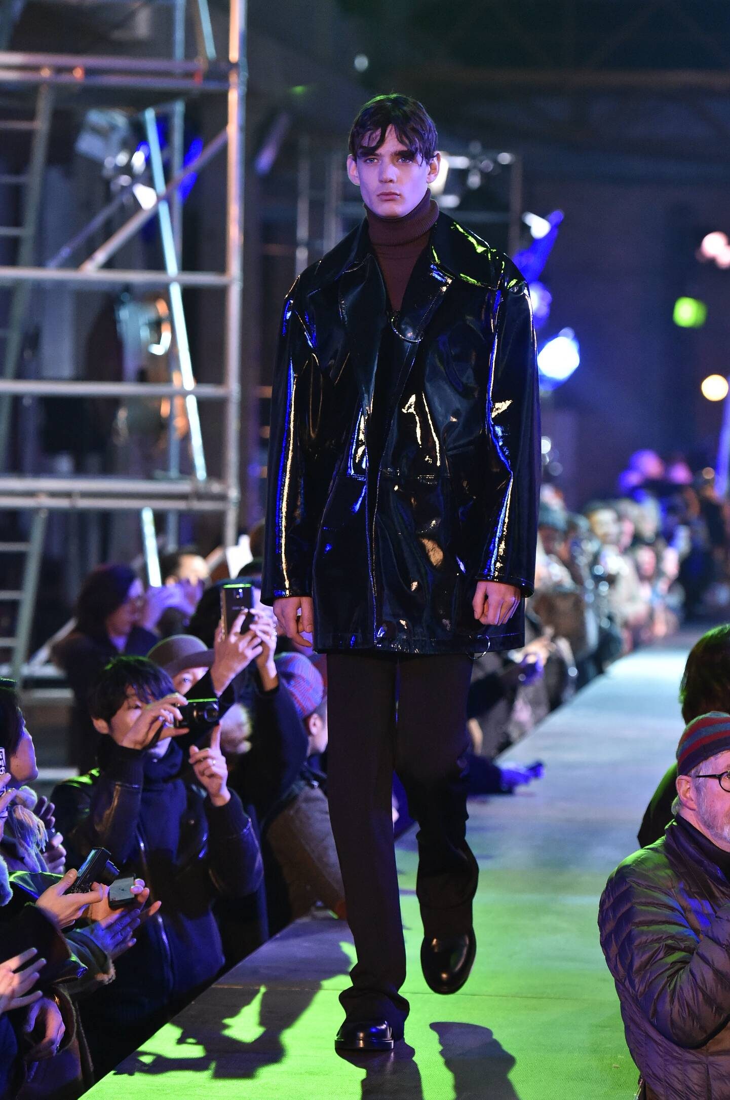 Catwalk Raf Simons Fall Winter 2015 16 Men's Collection Paris Fashion Week