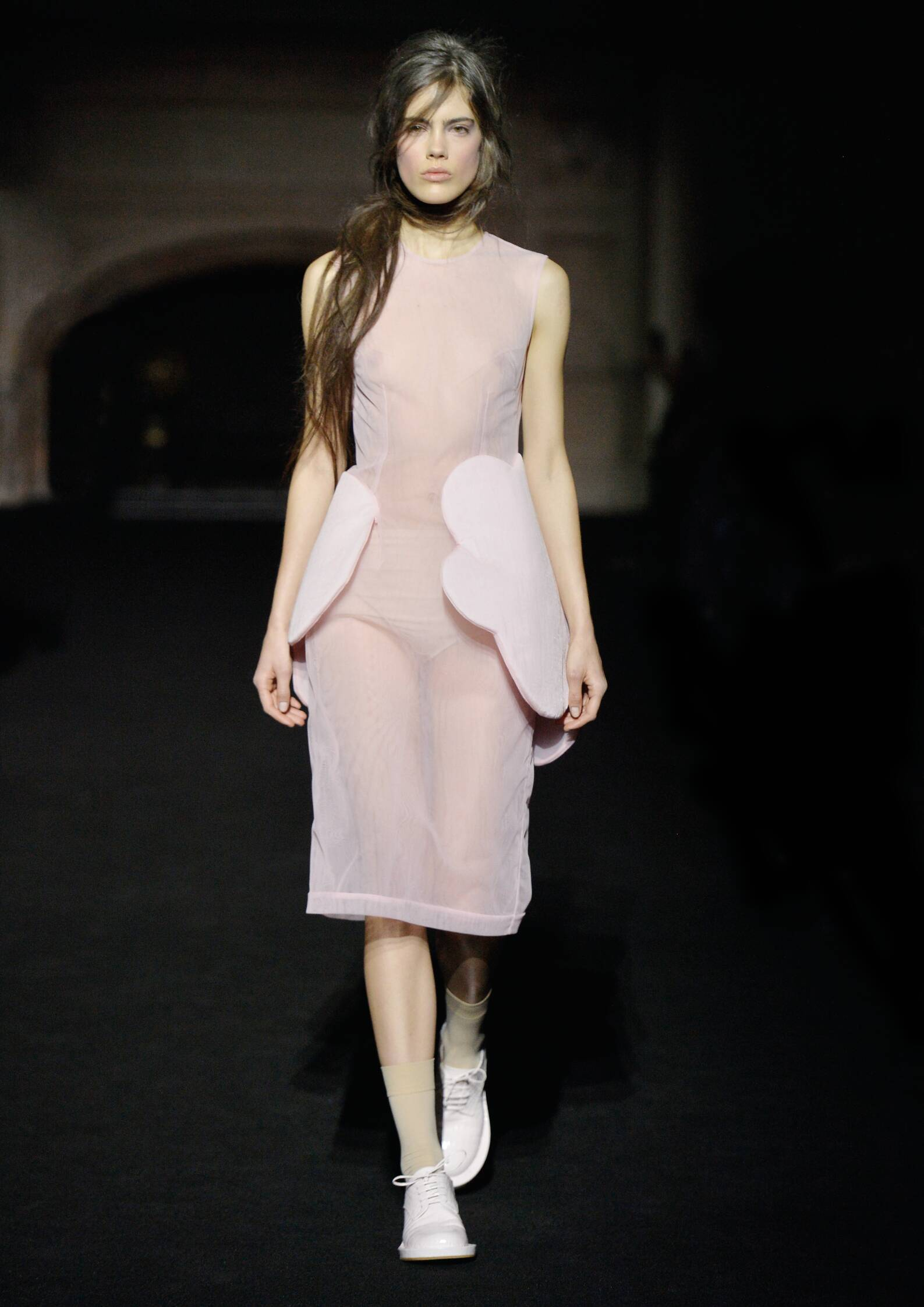 Catwalk Simone Rocha Collection Fashion Show Winter 2015