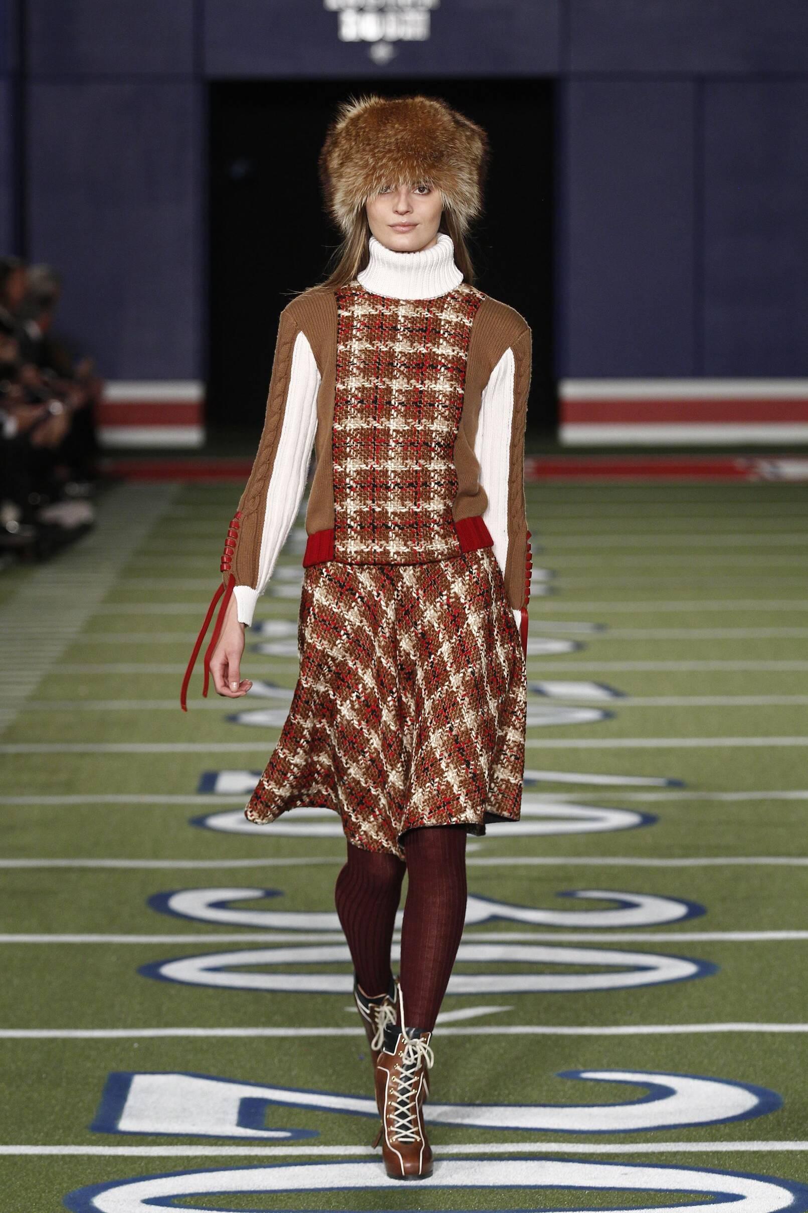 Catwalk Tommy Hilfiger Womenswear Collection Winter 2015