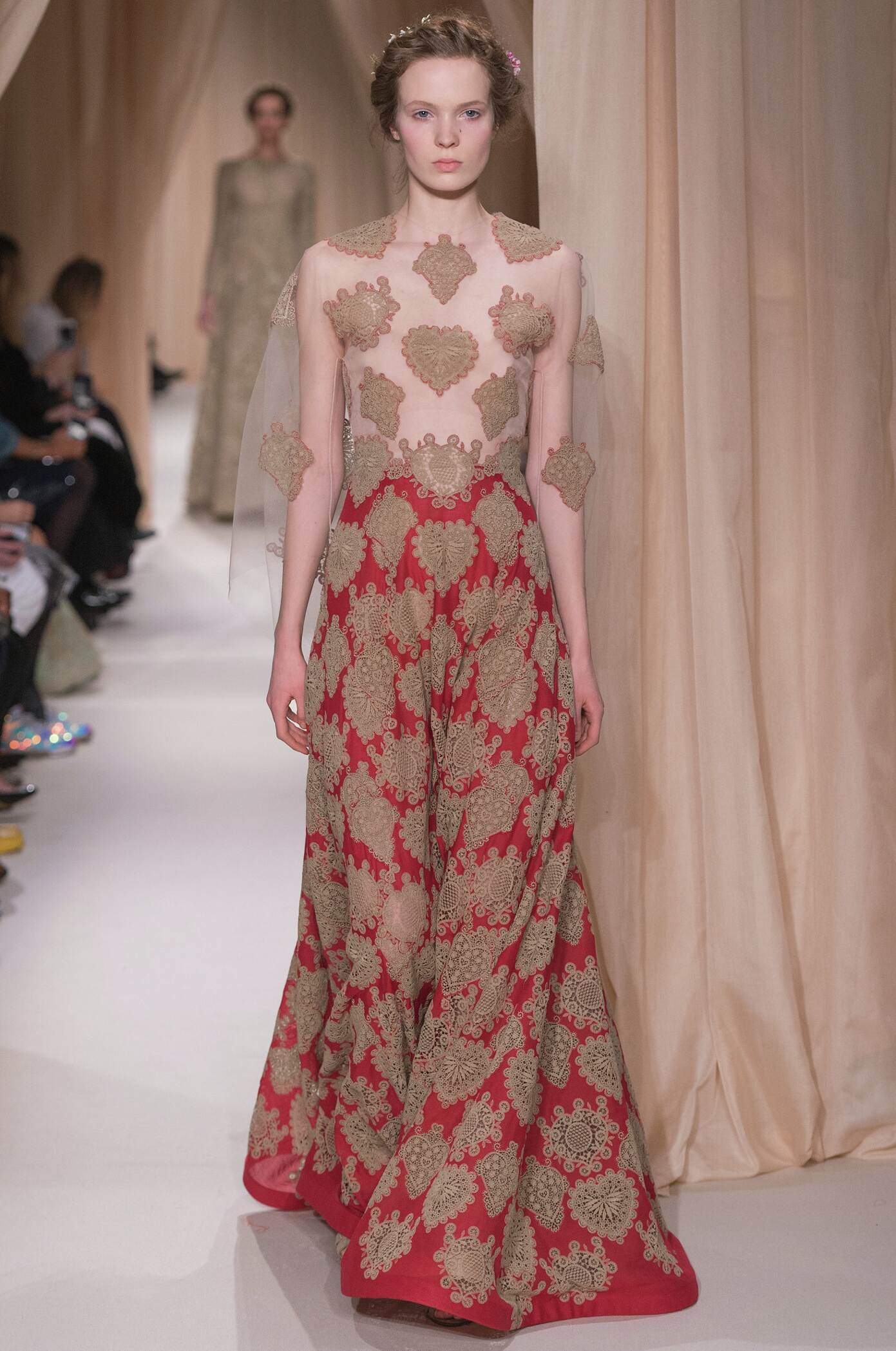 Catwalk Valentino Haute Couture Spring Summer 2015 Women's Collection Paris Fashion Week