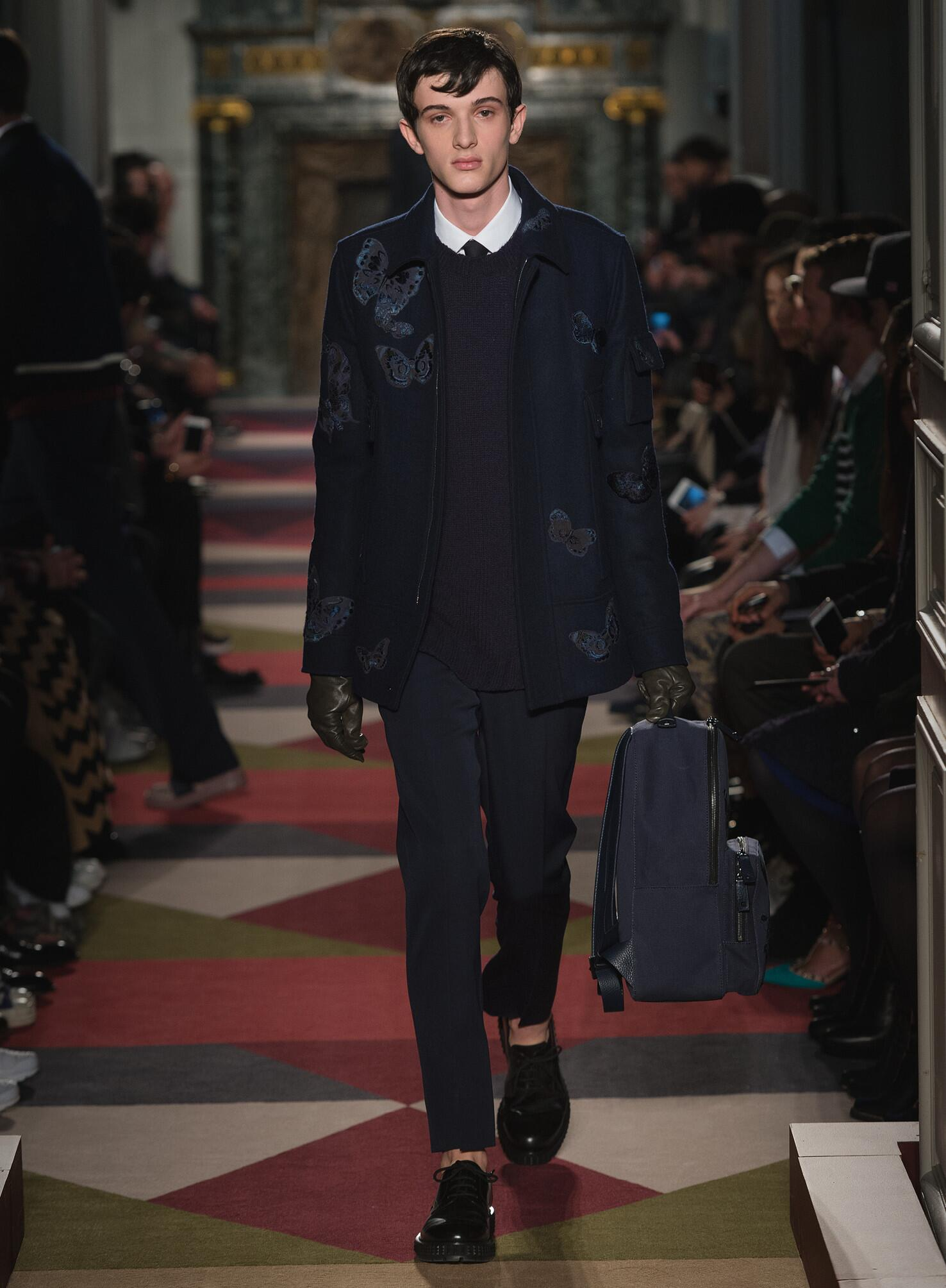 Catwalk Valentino Menswear Collection Winter 2015