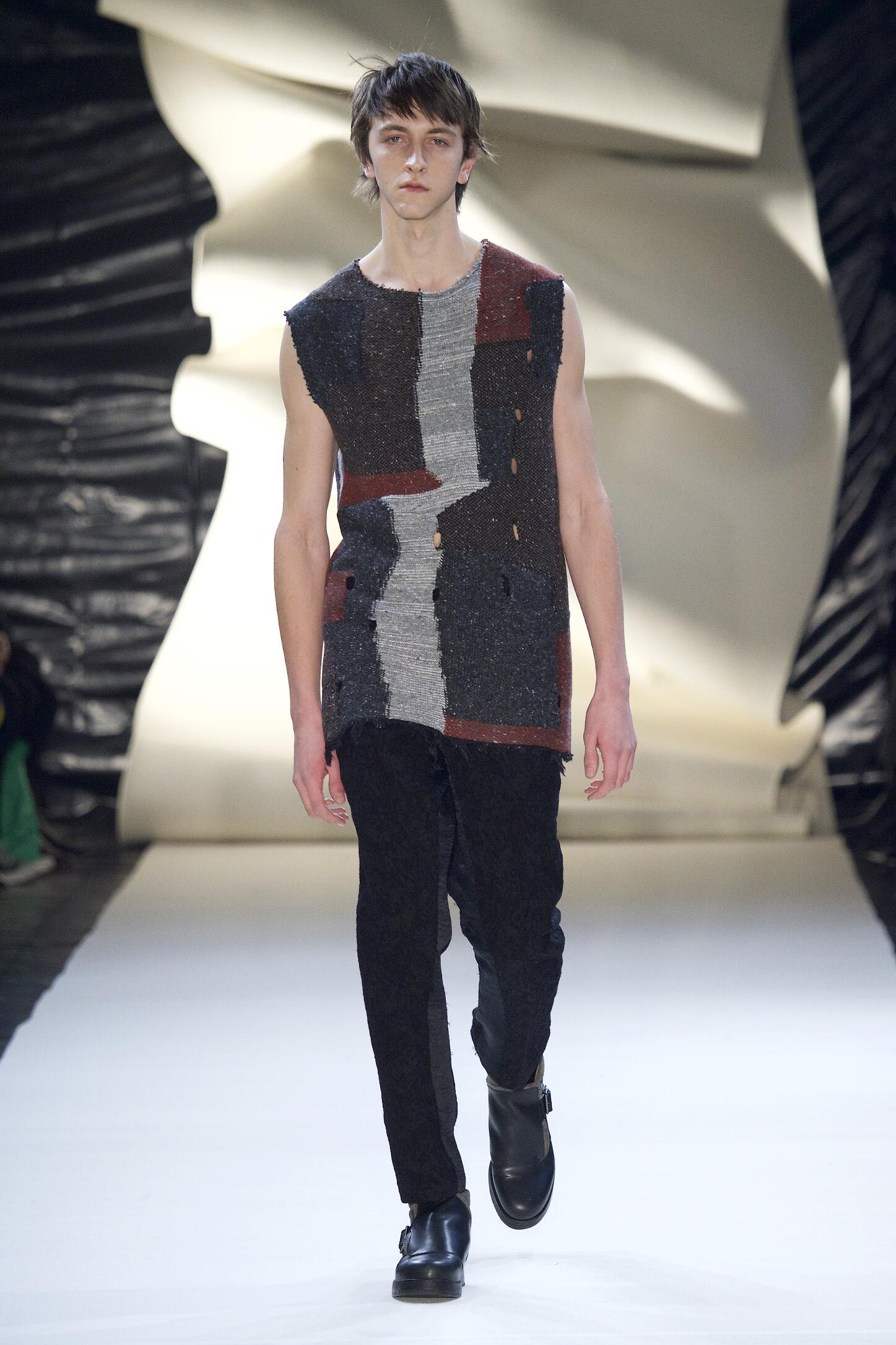 Damir Doma Fall Winter 2015 16 Men's Collection Paris Fashion Week Fashion Show