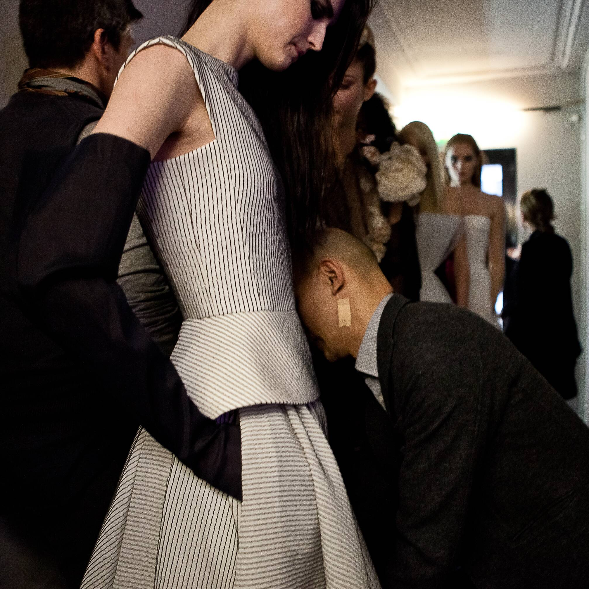 Dress Backstage Jean Paul Gaultier Haute Couture 2015