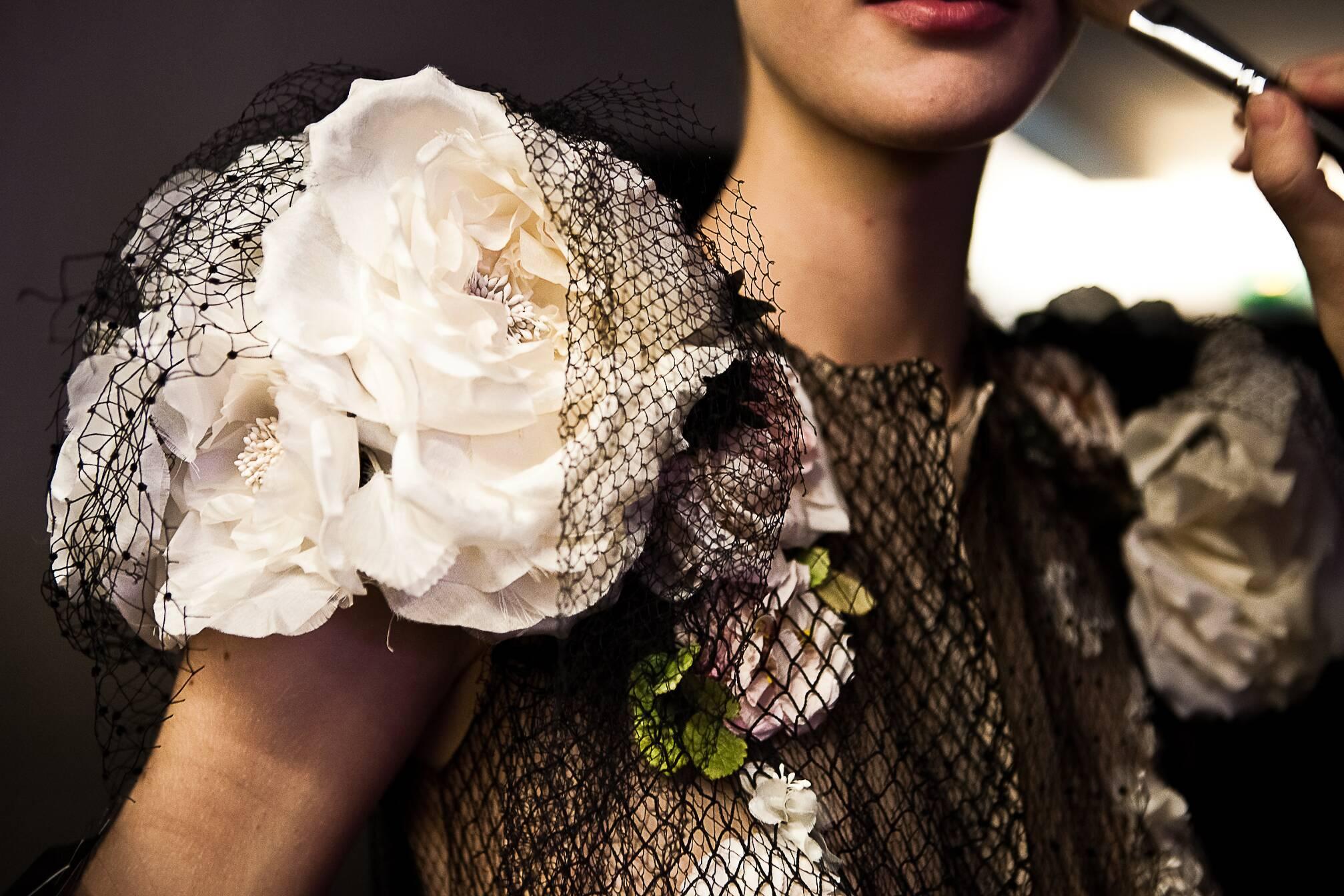 Dress Jean Paul Gaultier Haute Couture Backstage