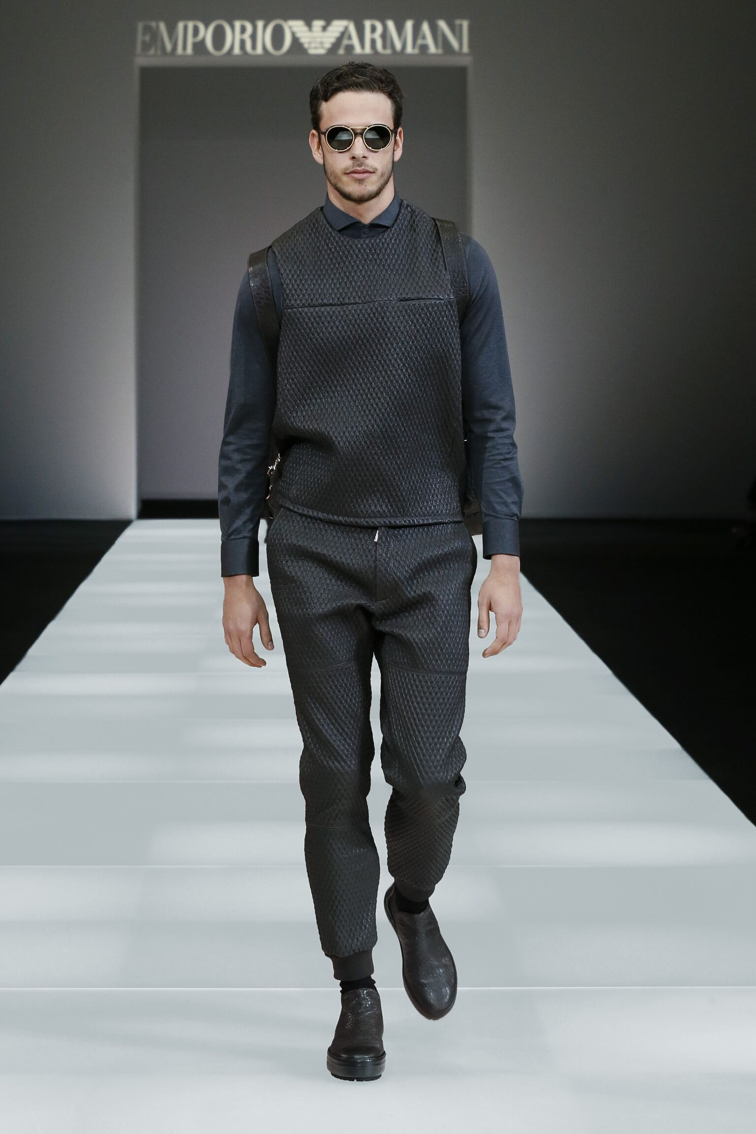 Emporio Armani Collection Man Milano Fashion Week