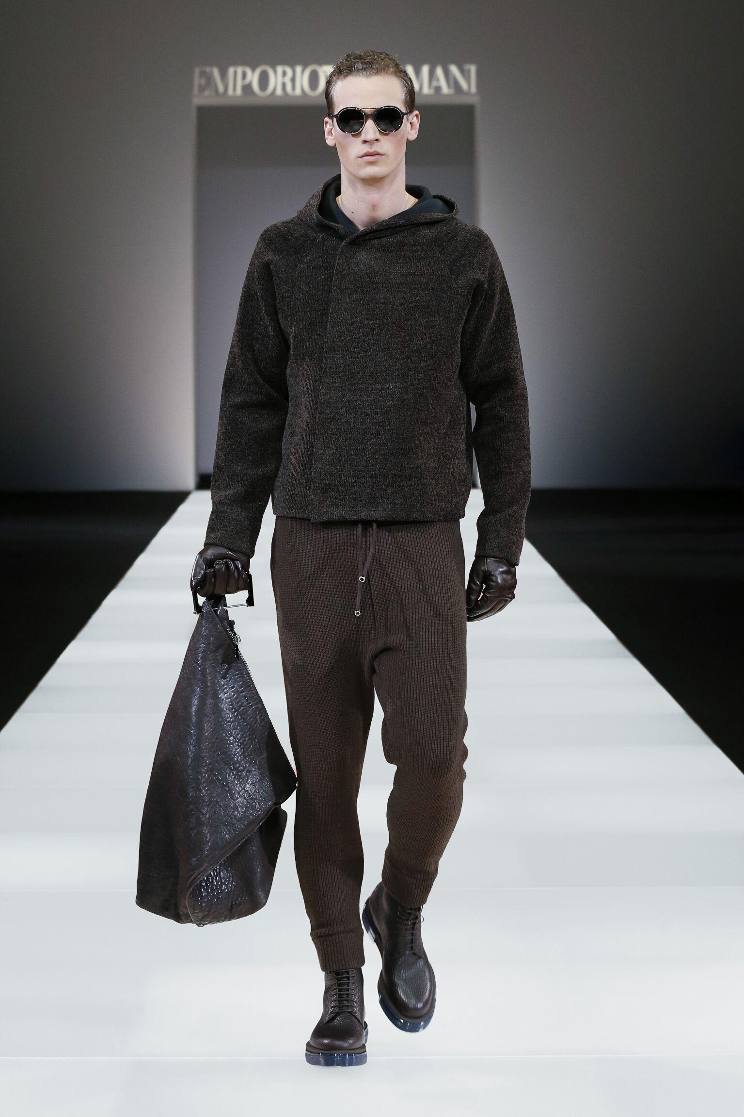 Emporio Armani Collection Milano Fashion Week Menswear