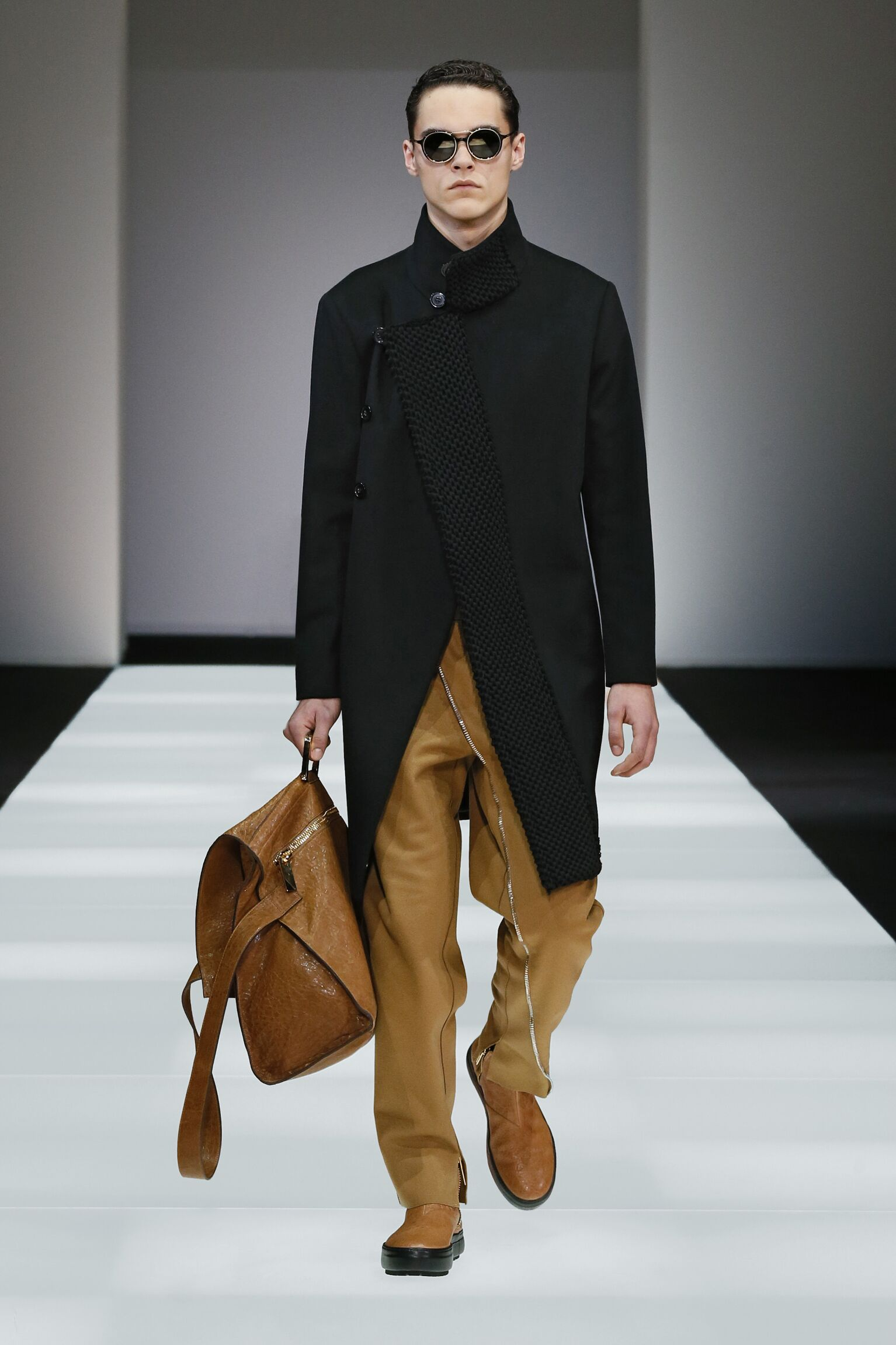 Emporio Armani Fall Winter 2015 16 Men's Collection Milan Fashion Week Fashion Show