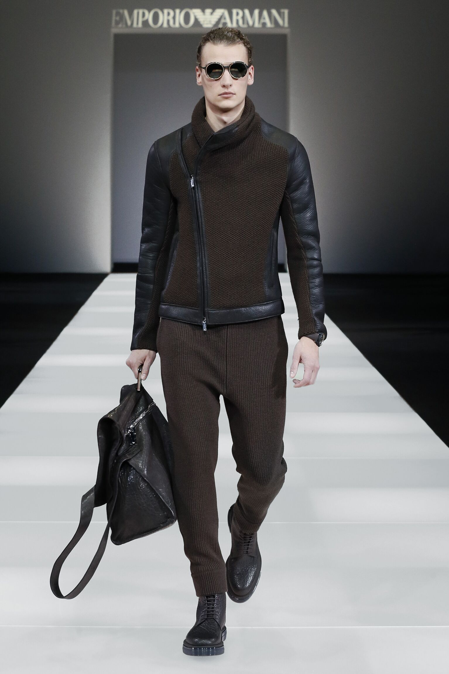 Emporio Armani Fall Winter 2015 16 Mens Collection Milano Fashion Week