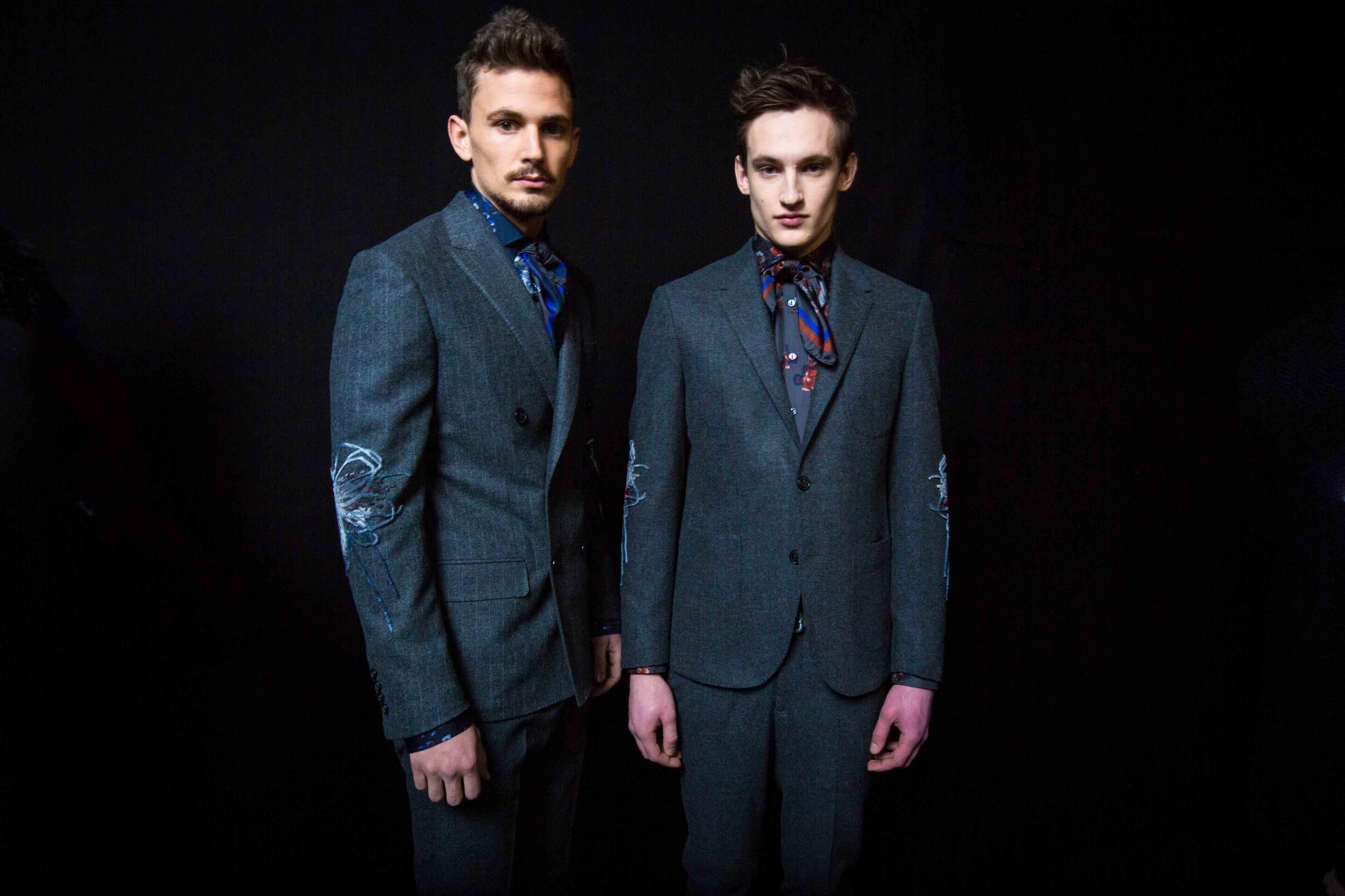 Ermanno Scervino Backstage Fashion Models