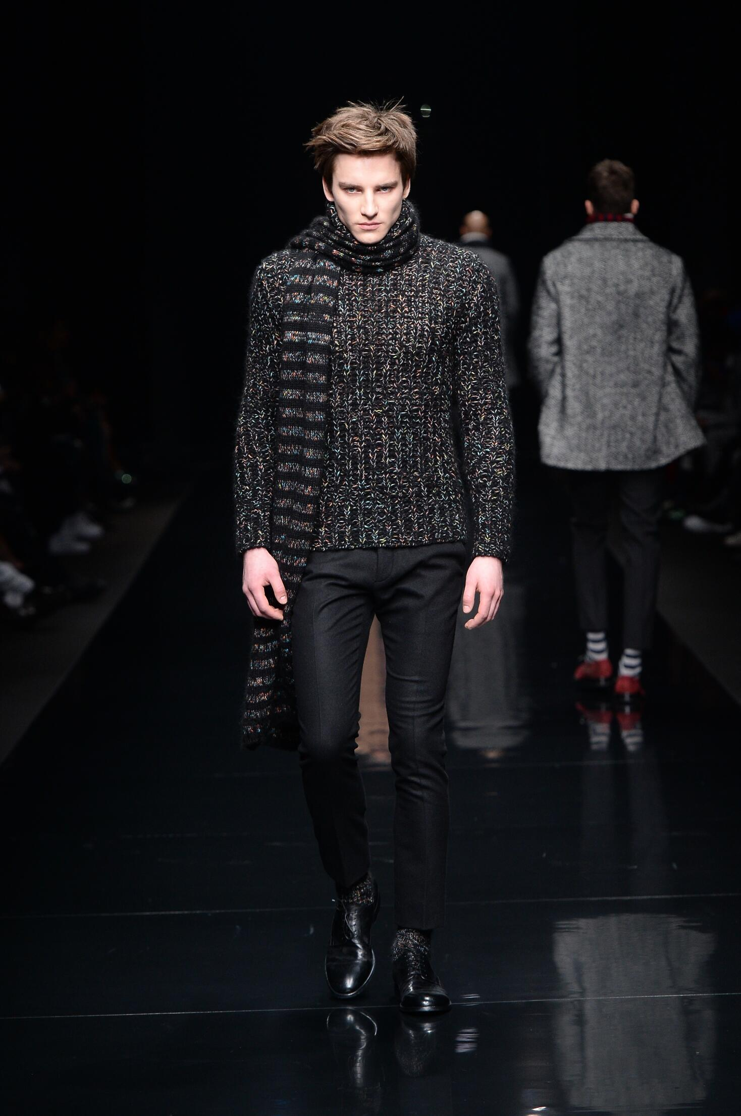 Ermanno Scervino Fall Winter 2015 16 Men's Collection Milan Fashion Week Fashion Show