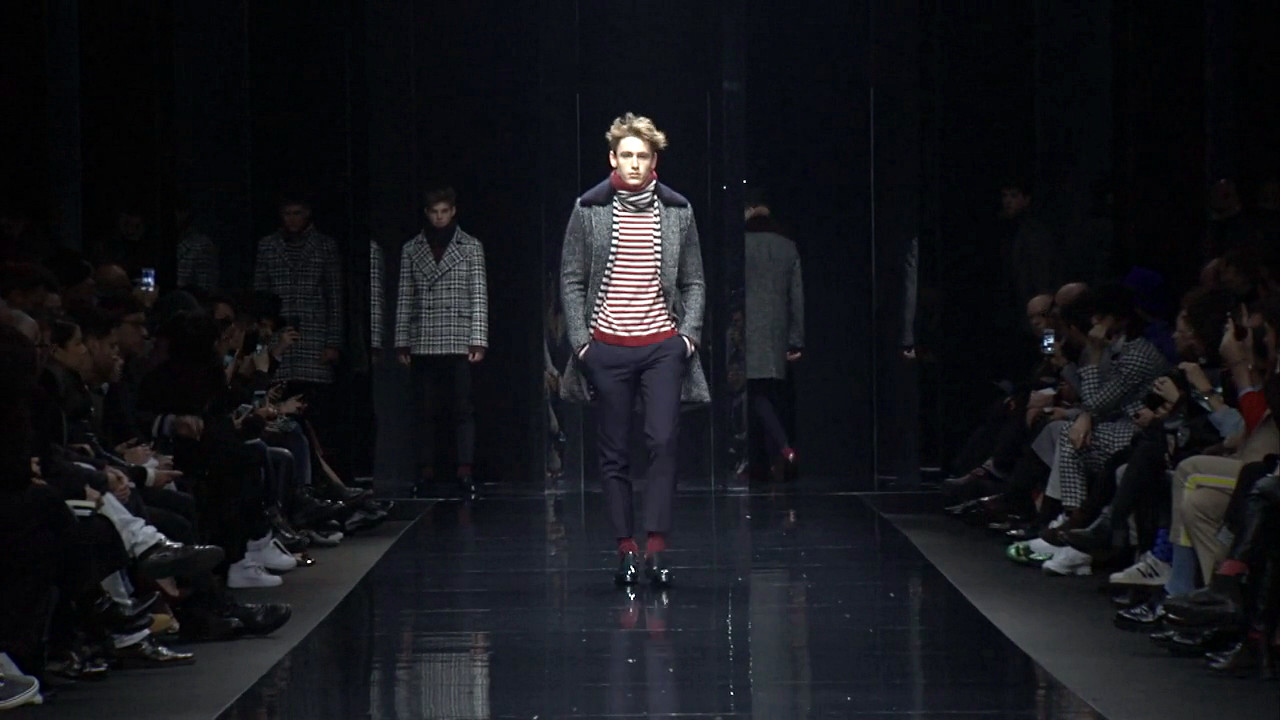Ermanno Scervino Fall Winter 2015-16 Men's Fashion Show - Milan Fashion Week