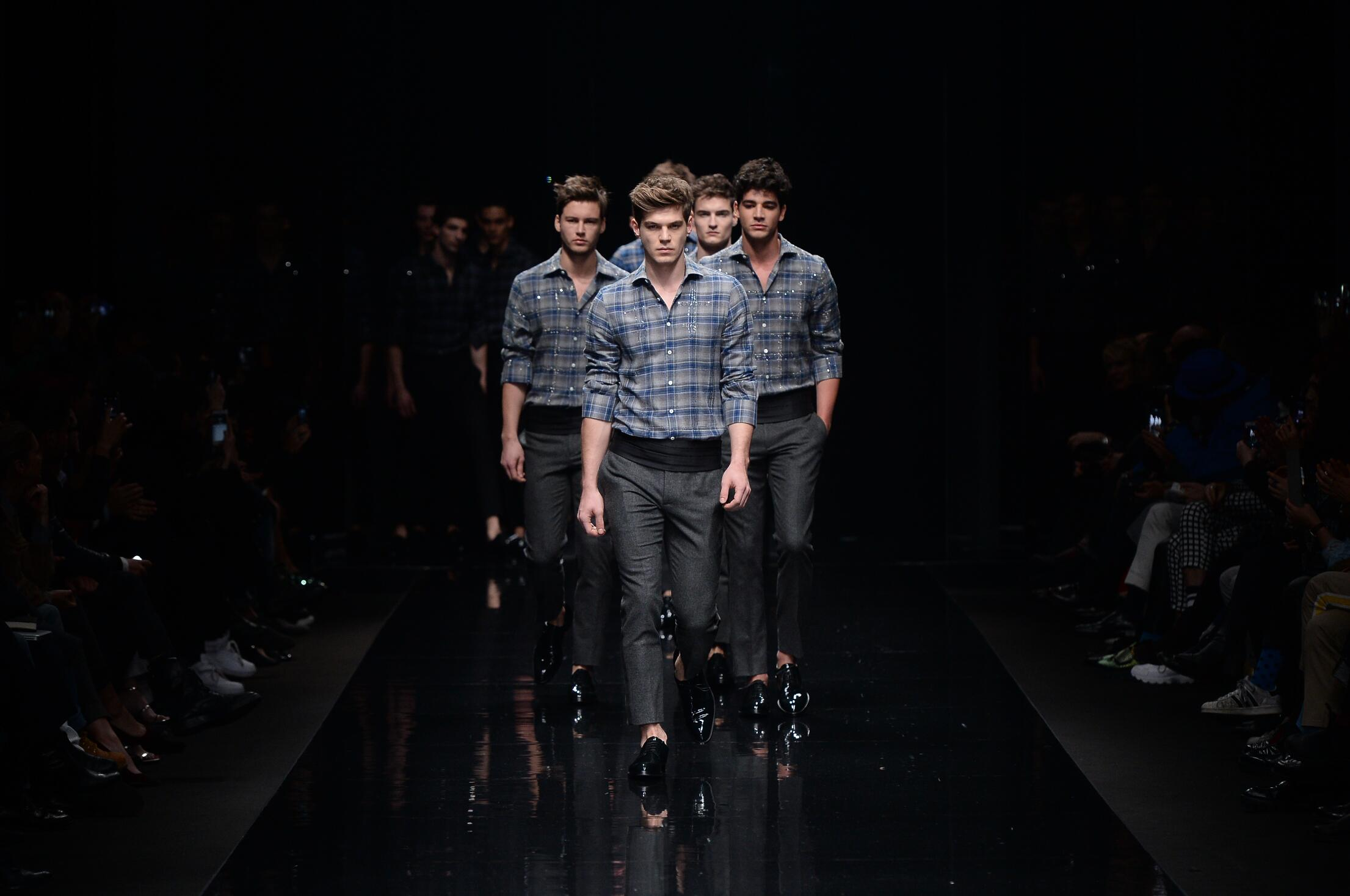 Ermanno Scervino Fashion Show Finale