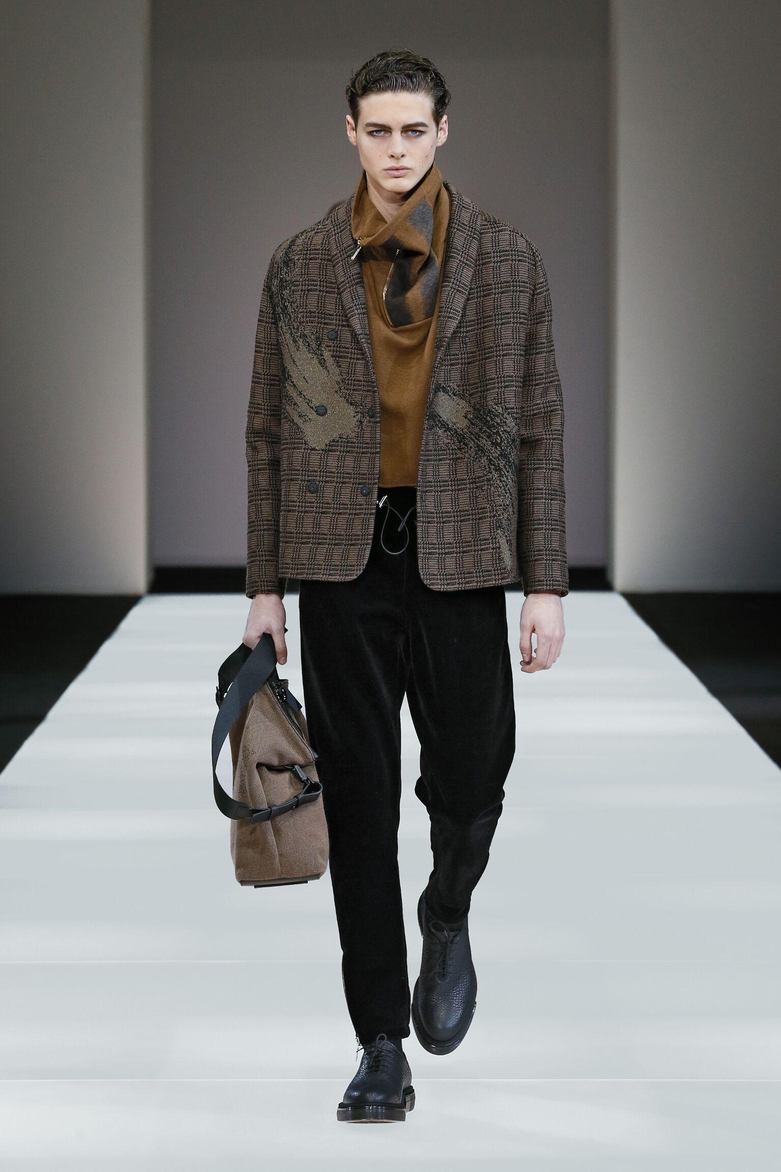 Fall 2015 Fashion Trends Emporio Armani Collection