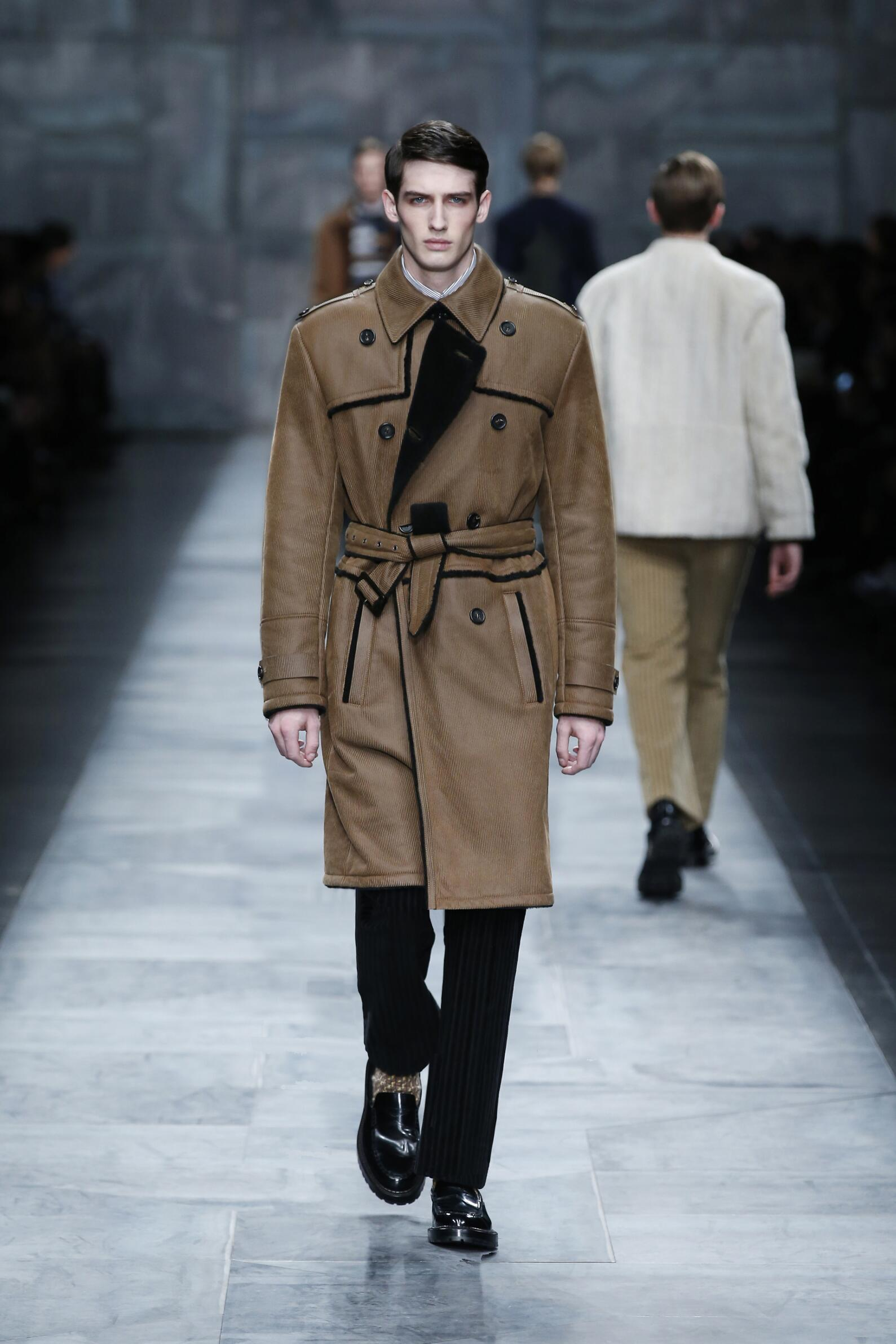 Fall 2015 Men Fashion Show Fendi Collection