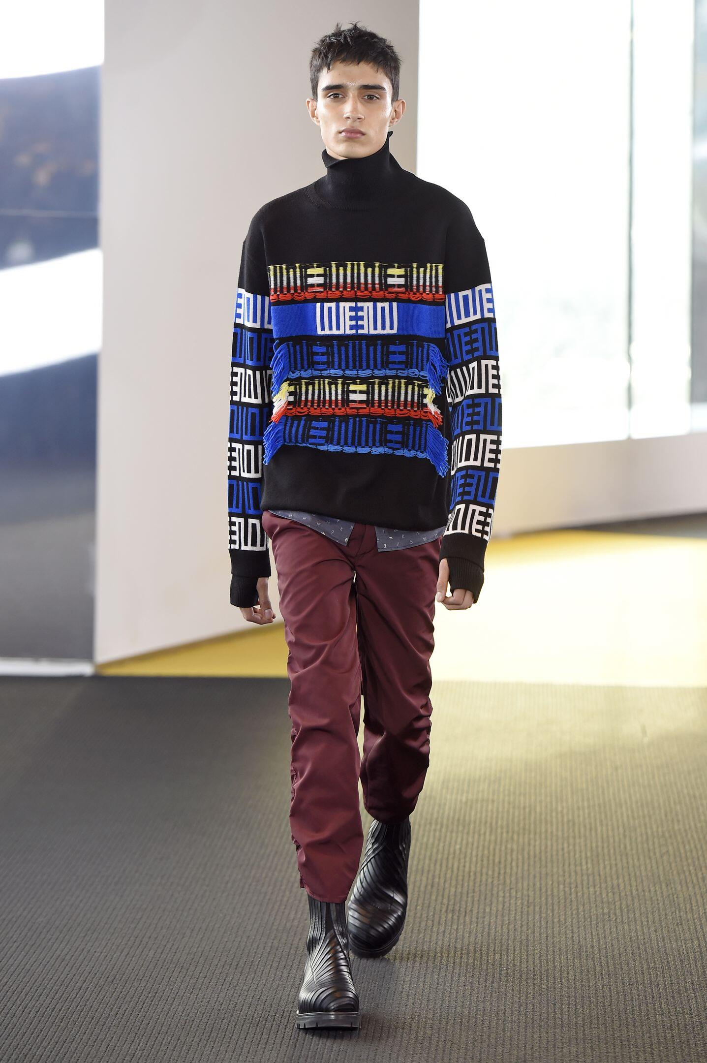 Fall 2015 Men Fashion Show Kenzo Collection