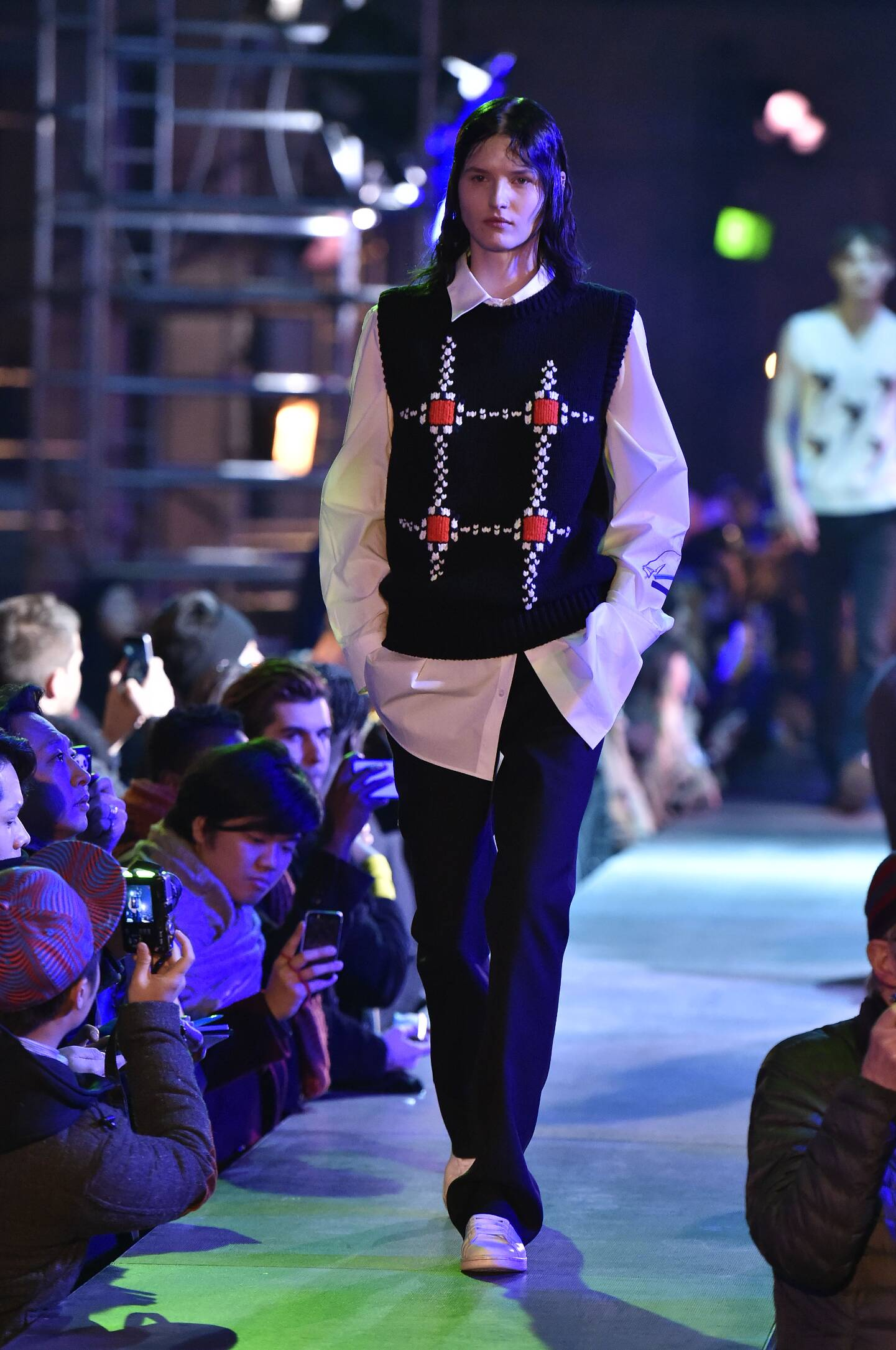 Fall 2015 Men Fashion Show Raf Simons Collection