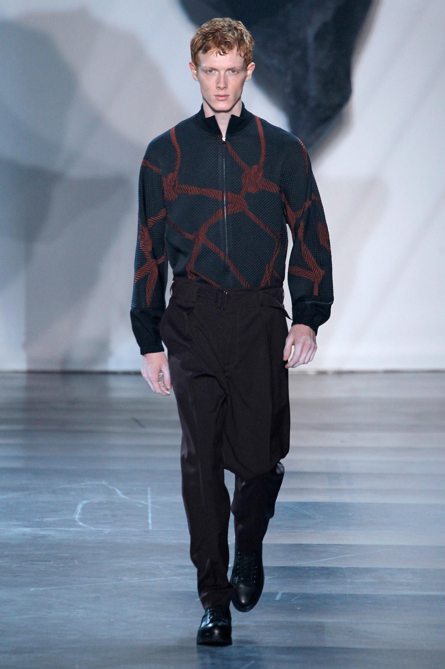 Fall 3.1 Phillip Lim Collection Fashion Men Models