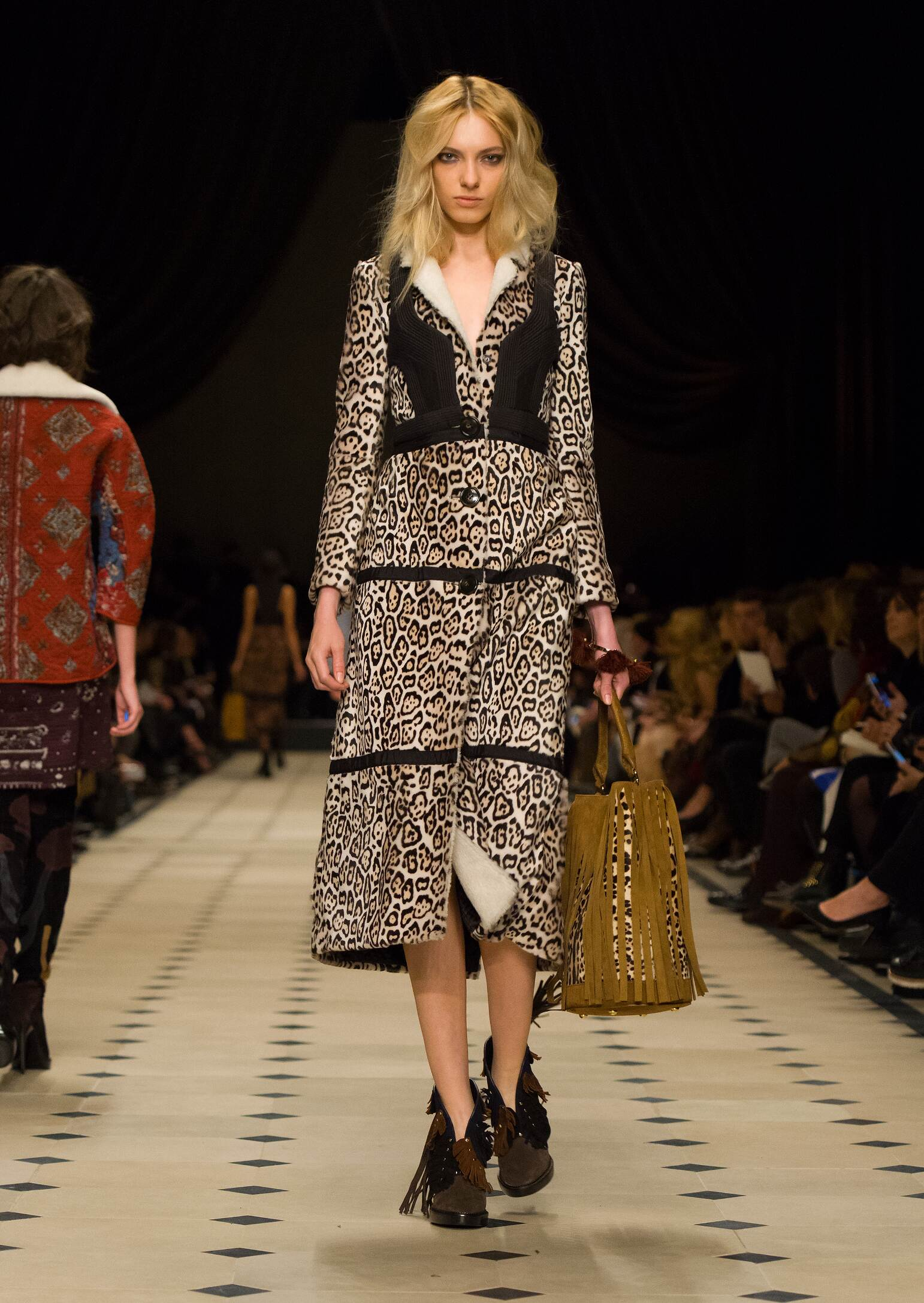 Fall Burberry Prorsum Collection Fashion Women Model
