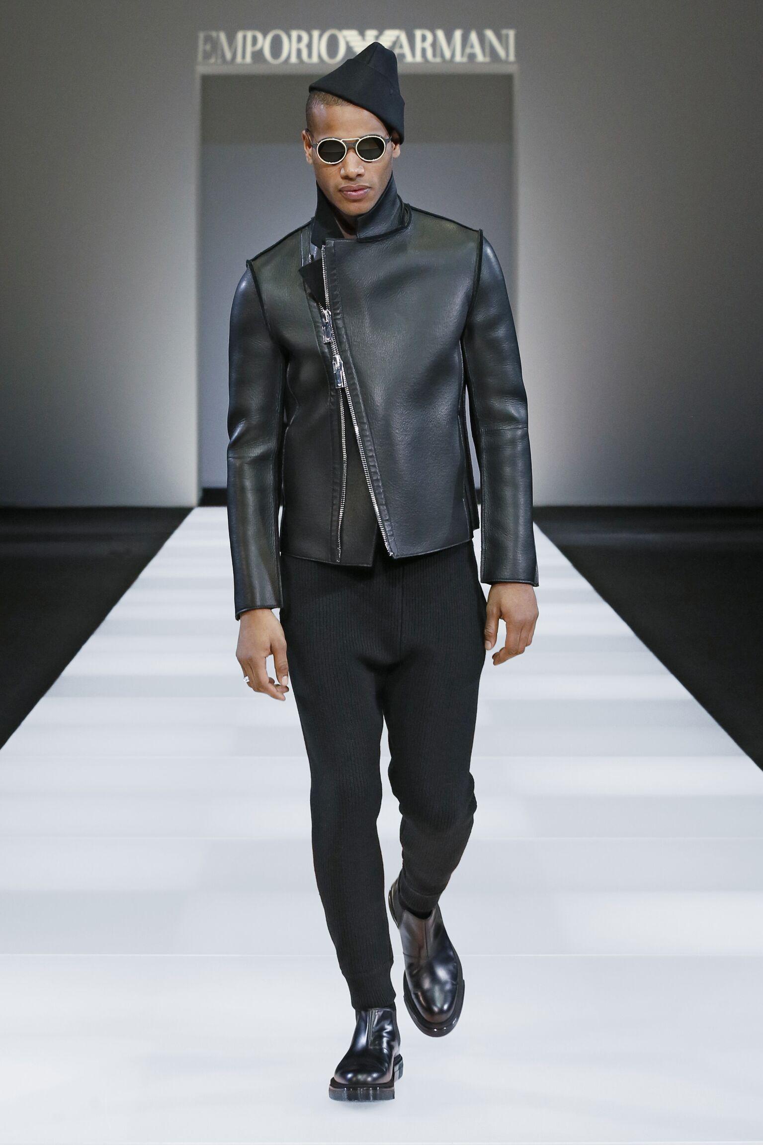 Fall Emporio Armani Collection Fashion Man