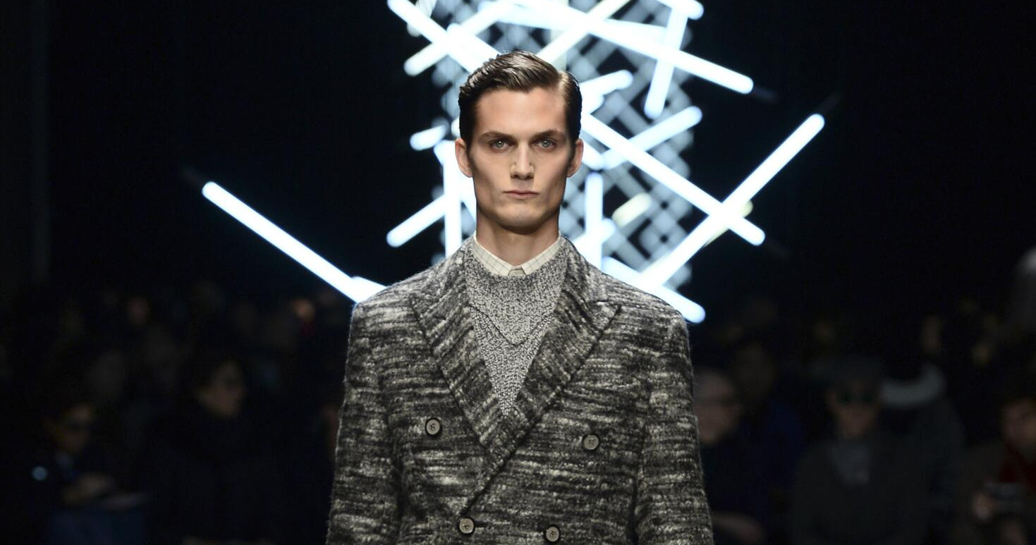 Fall Fashion Man Canali Collection 2015