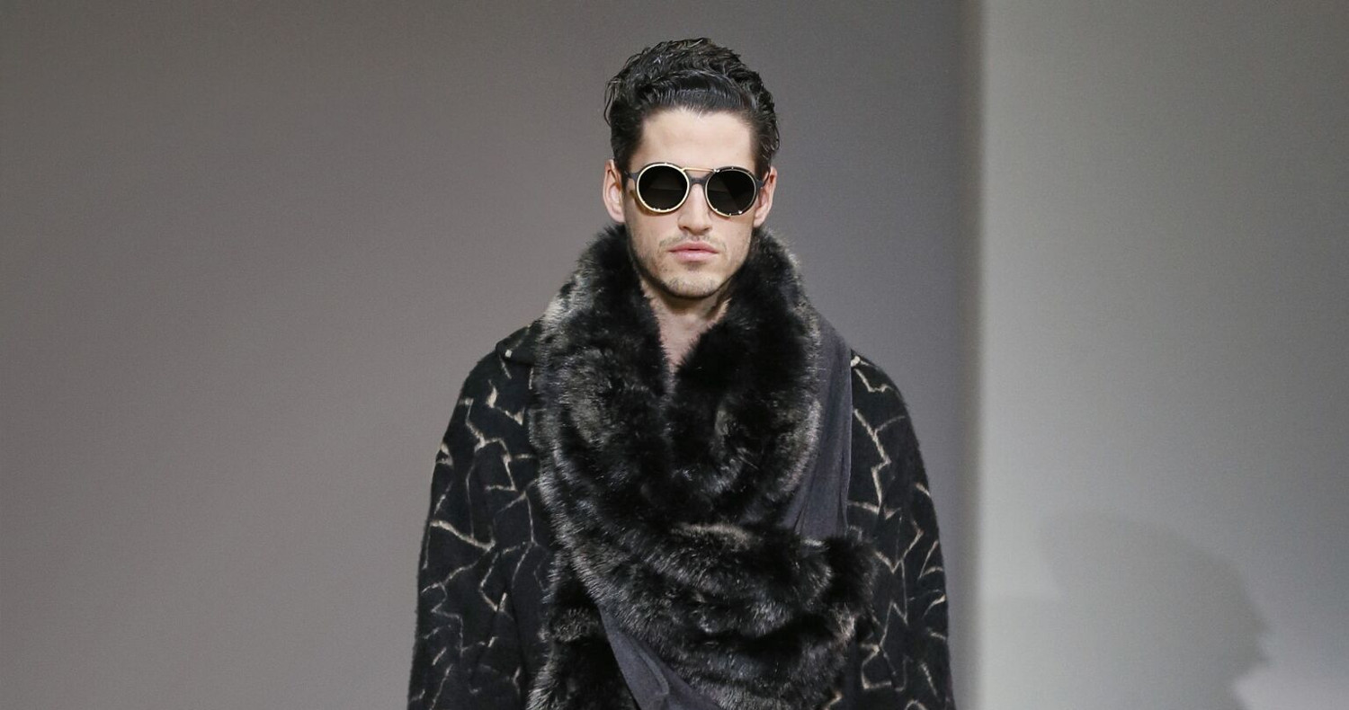 Fall Fashion Man Emporio Armani Collection 2015