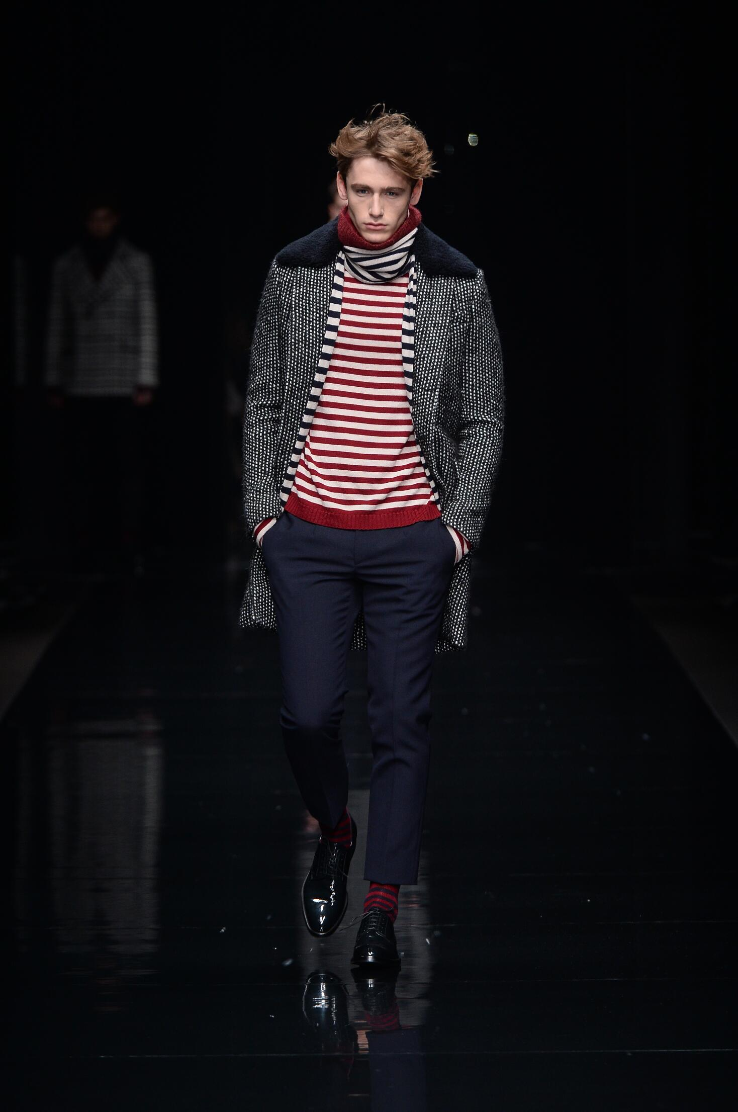 Fall Fashion Man Ermanno Scervino Collection
