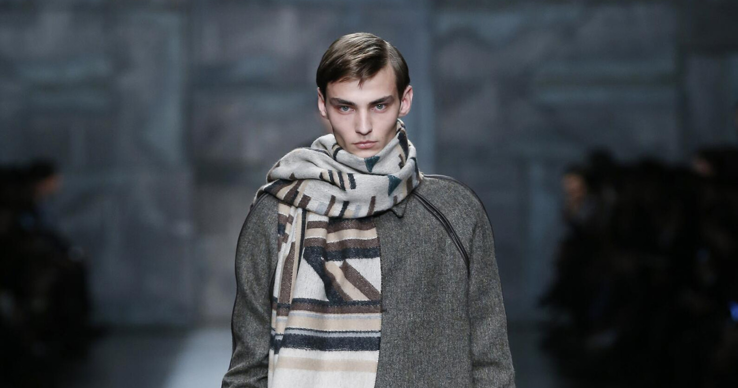 Fall Fashion Man Fendi Collection 2015