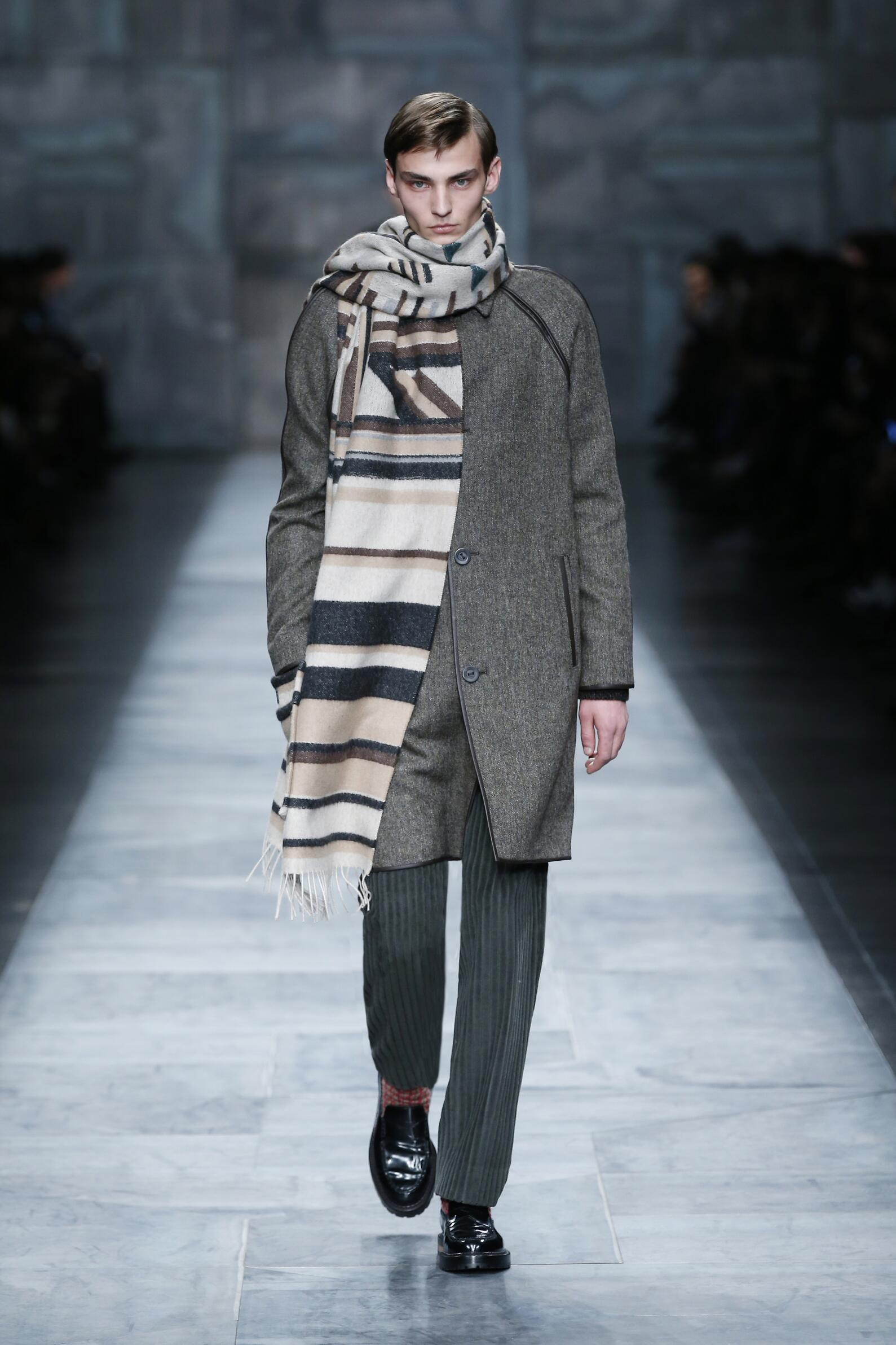 Fall Fashion Man Fendi Collection