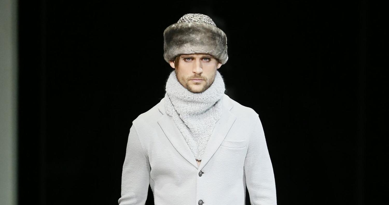 Fall Fashion Man Giorgio Armani Collection 2015