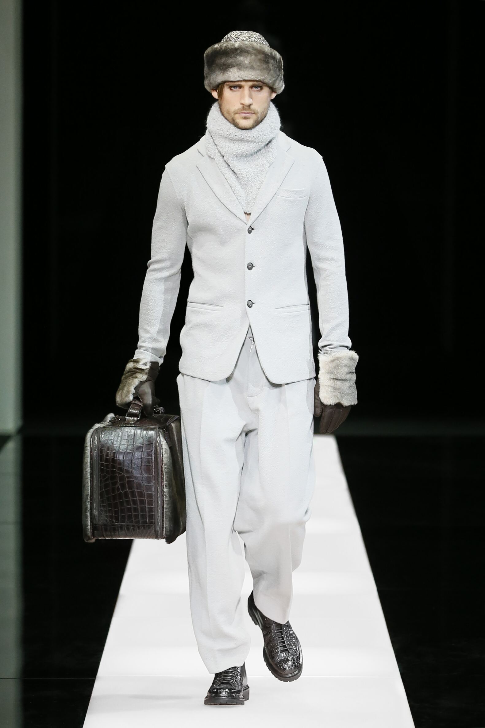 Fall Fashion Man Giorgio Armani Collection