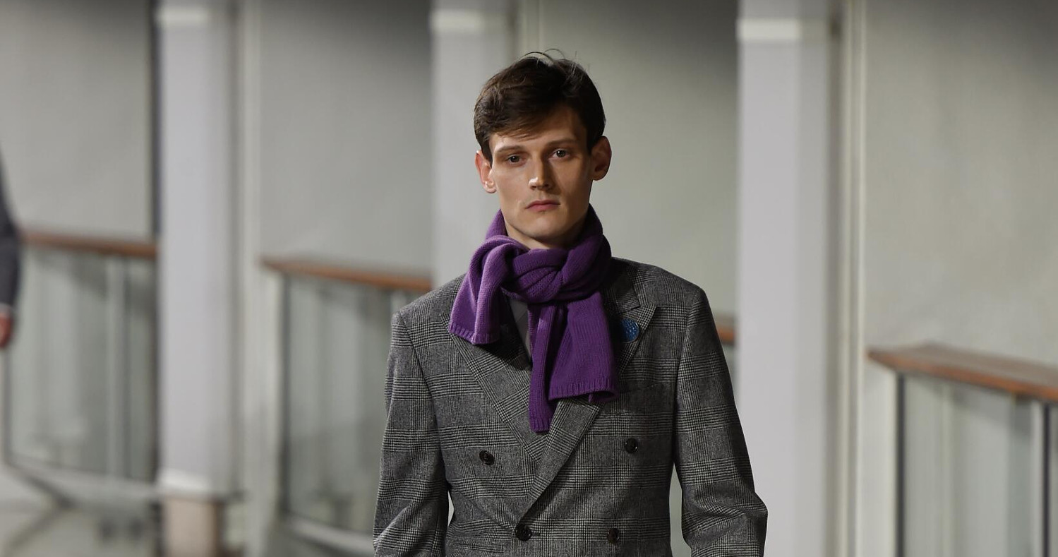 Fall Fashion Man Hermes Collection 2015