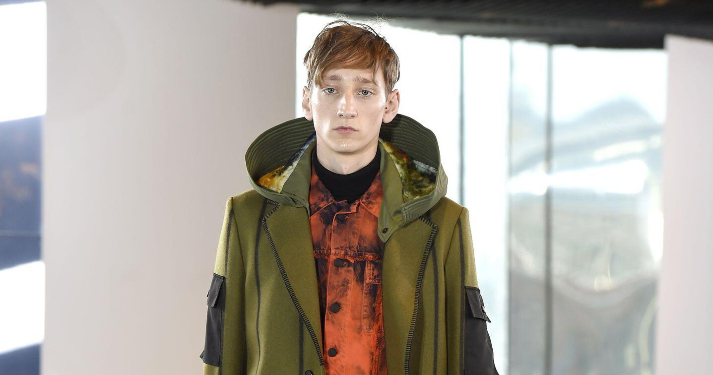 Fall Fashion Man Kenzo Collection 2015