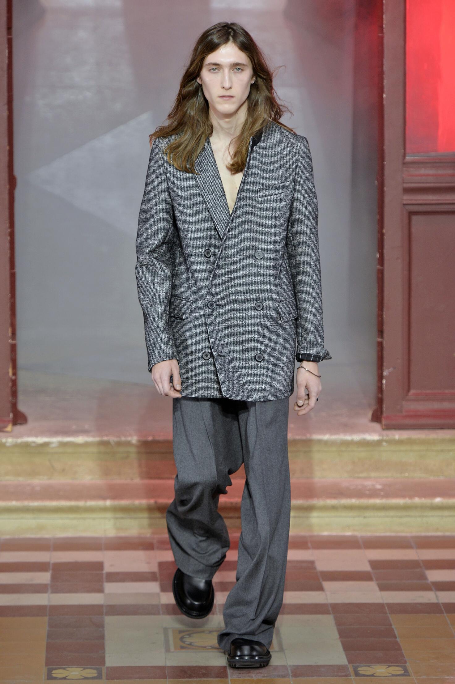 Fall Fashion Man Lanvin Collection