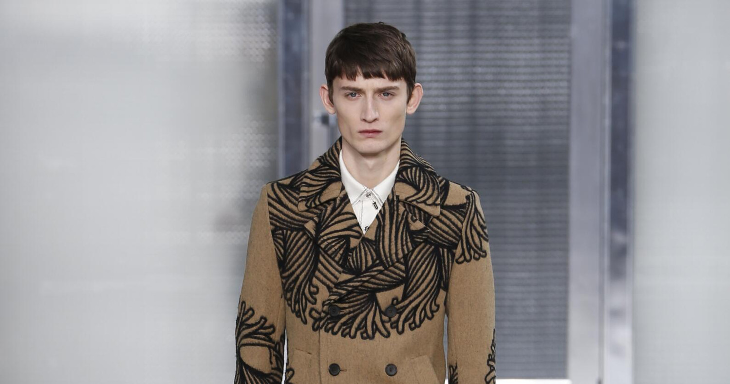 Fall Fashion Man Louis Vuitton Collection 2015