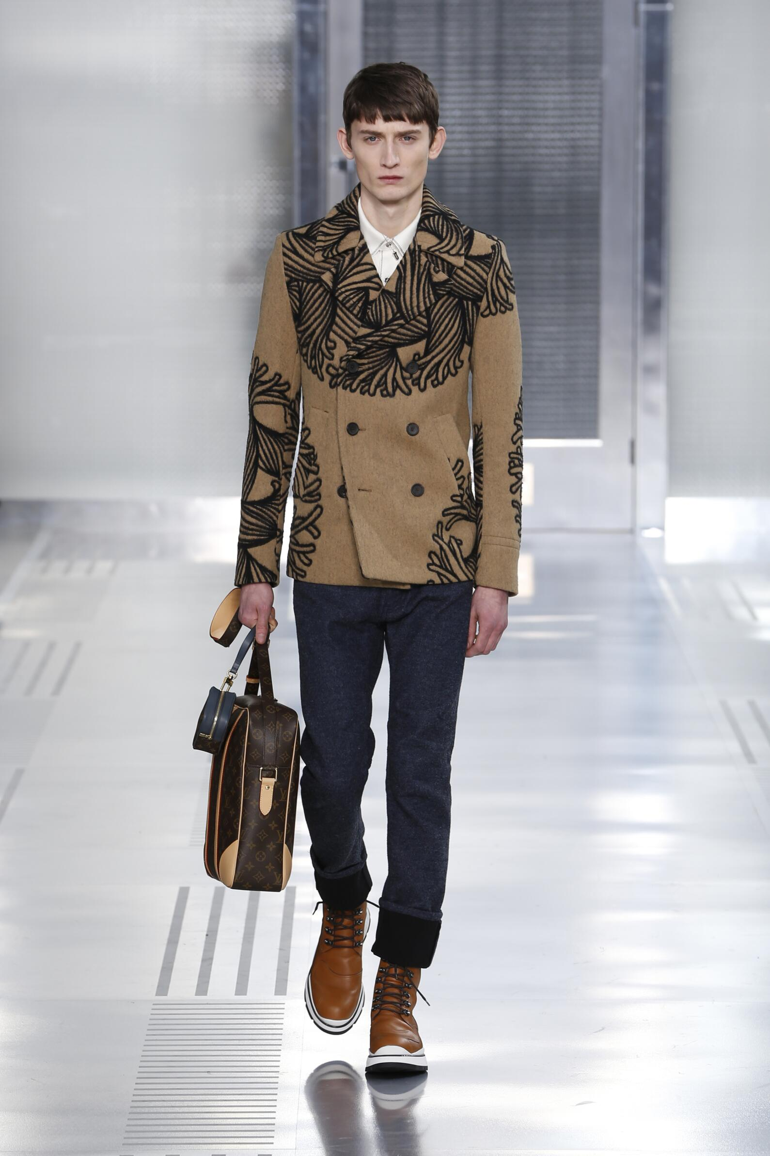 Fall Fashion Man Louis Vuitton Collection