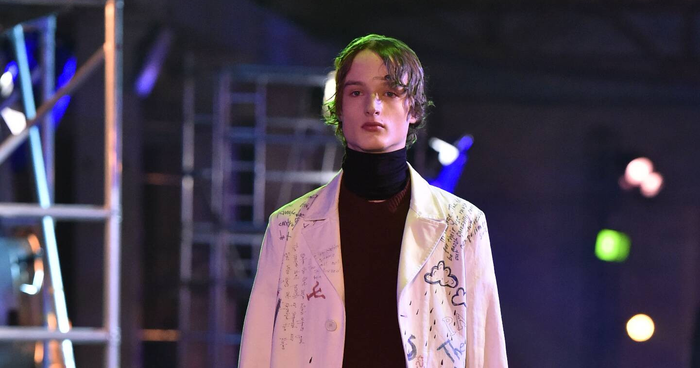 Fall Fashion Man Raf Simons Collection 2015