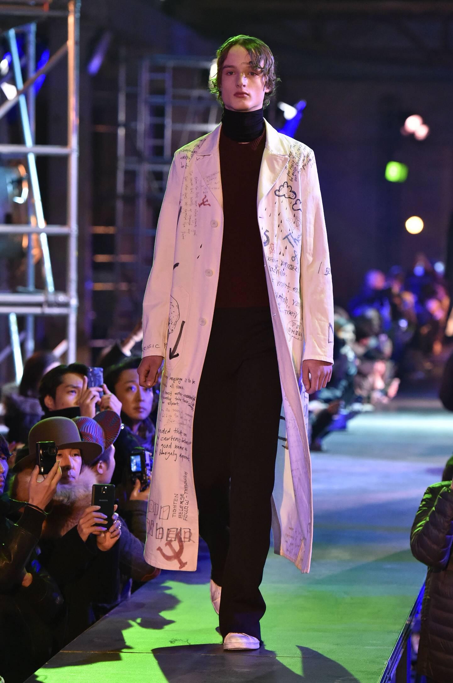 Fall Fashion Man Raf Simons Collection
