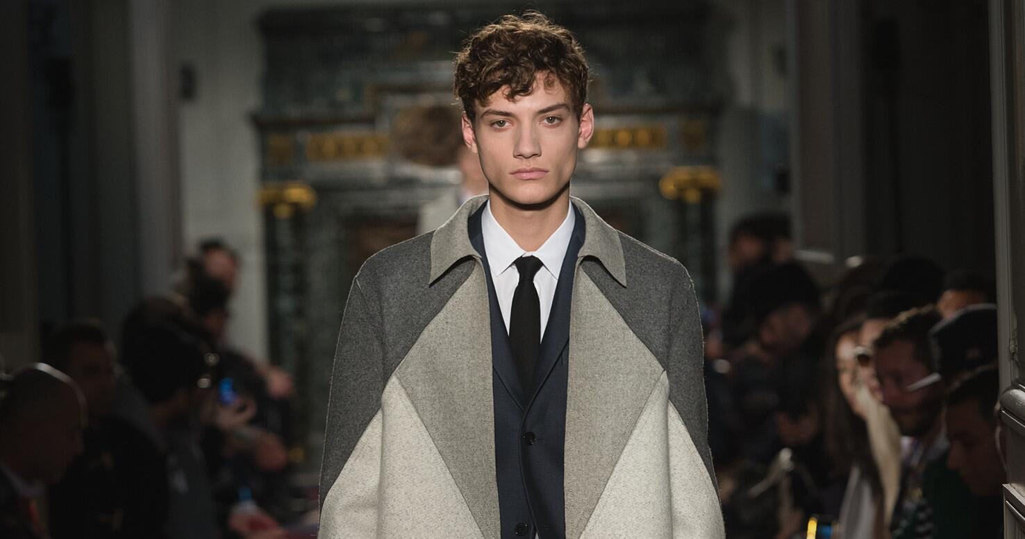 Fall Fashion Man Valentino Collection 2015
