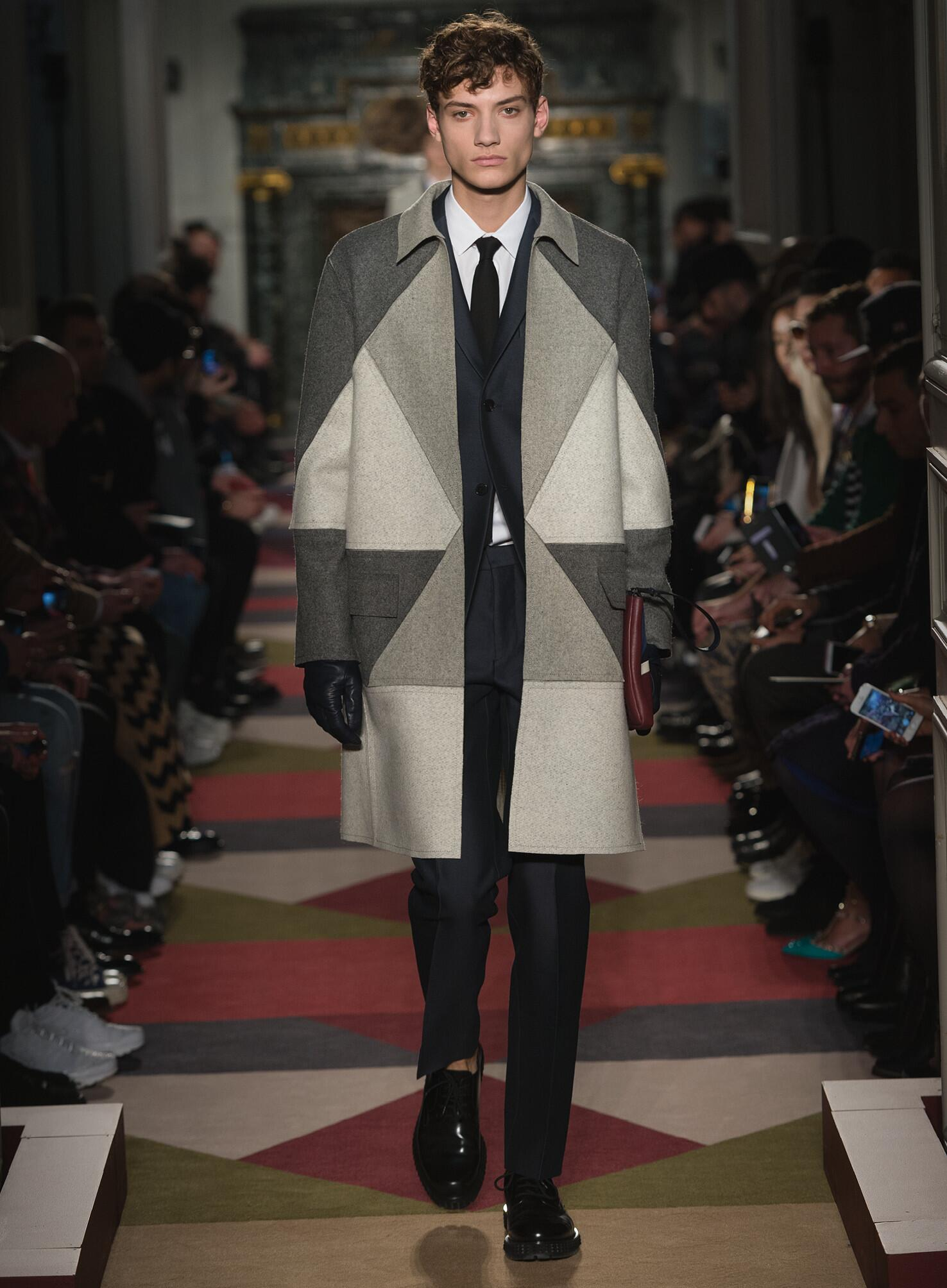 Fall Fashion Man Valentino Collection
