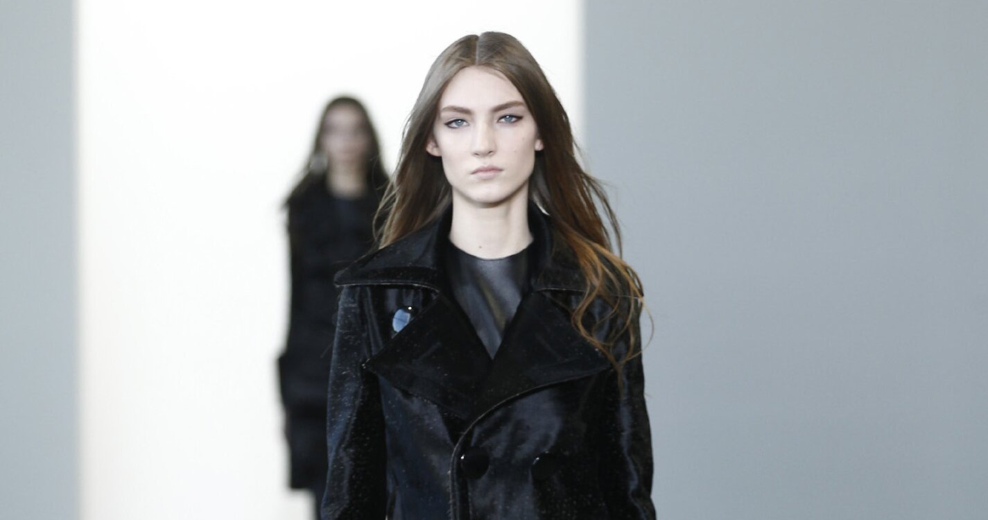 Fall Fashion Woman Calvin Klein Collection 2015