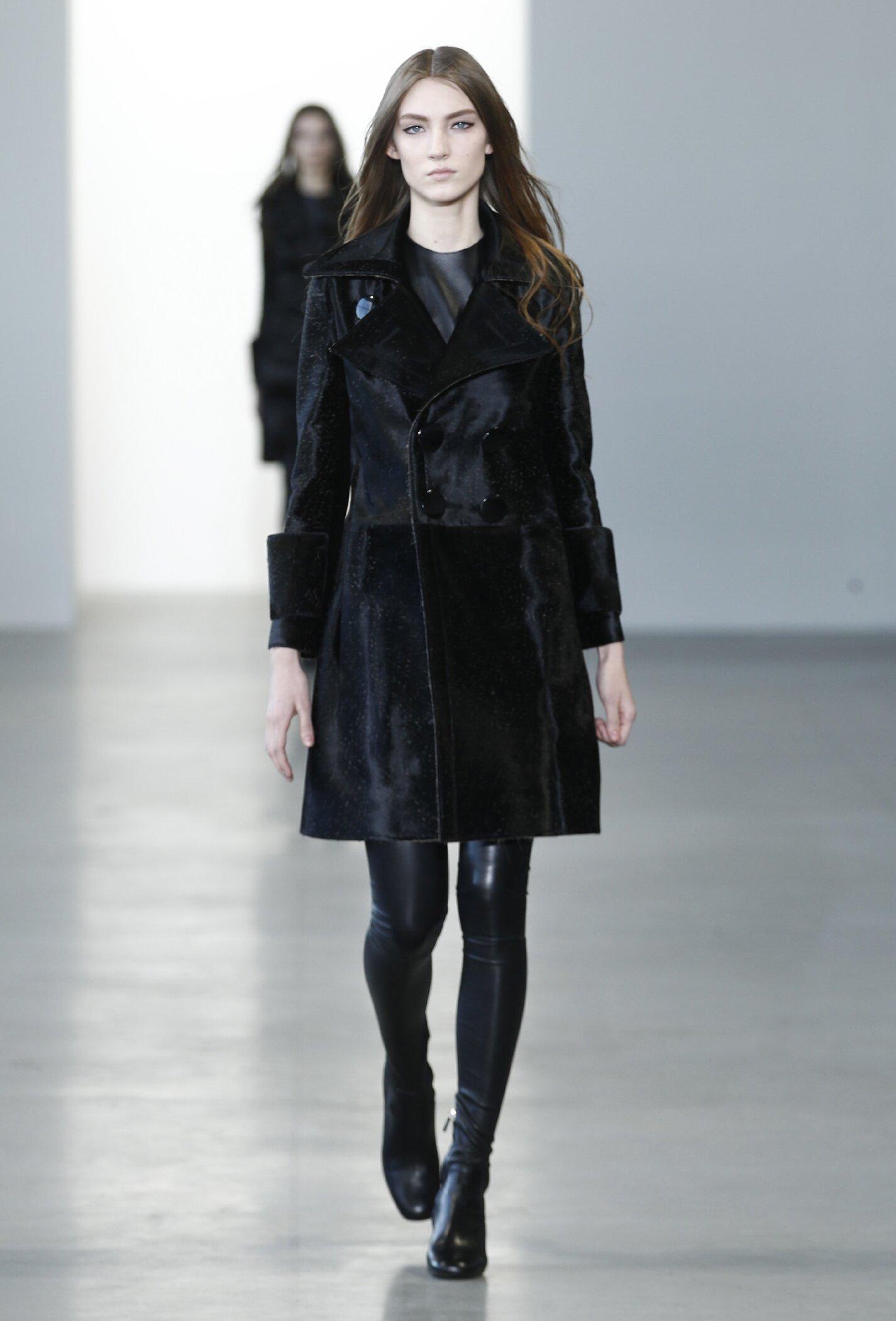 Fall Fashion Woman Calvin Klein Collection